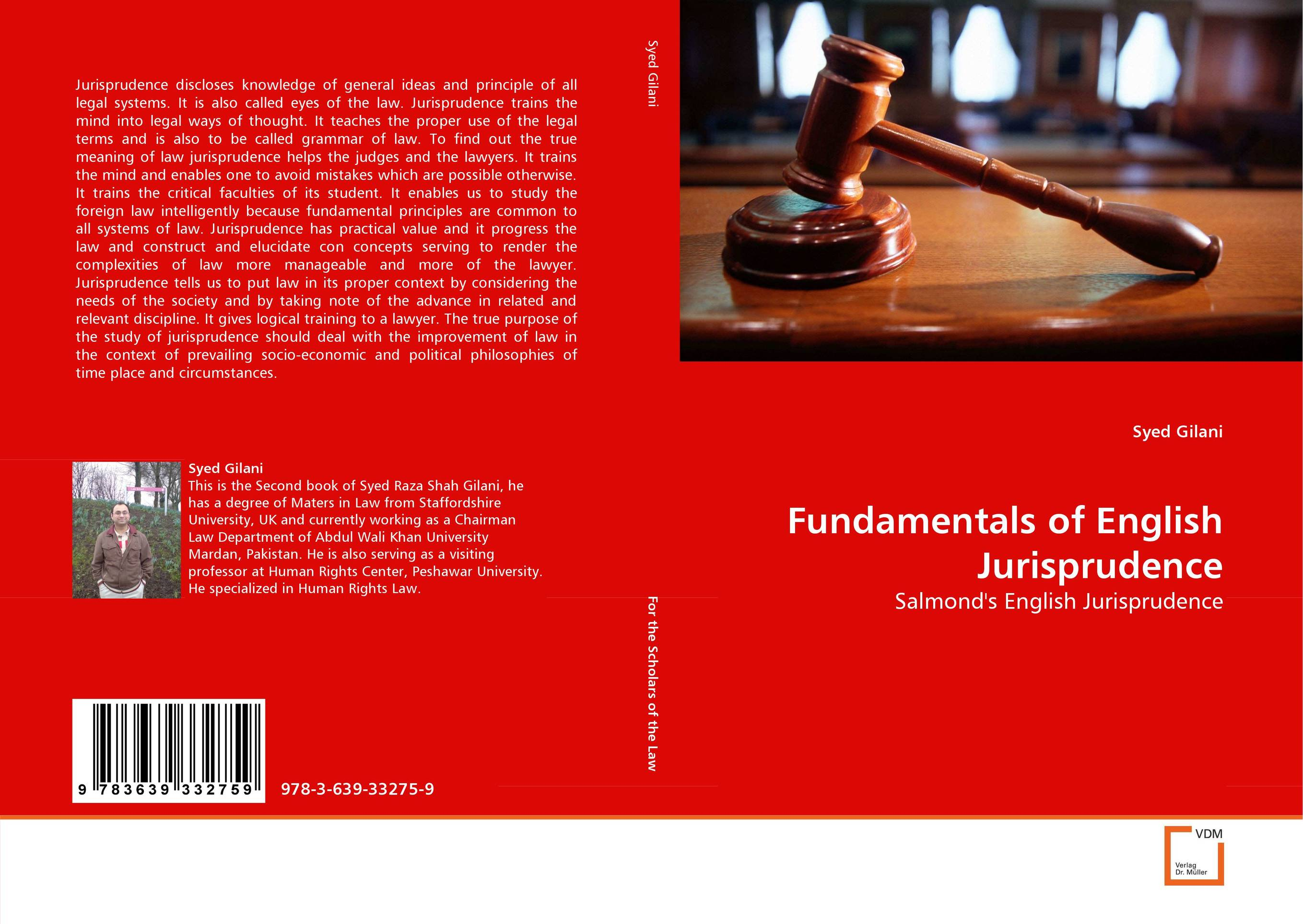 Fundamentals of English Jurisprudence in the name of the law – confessions of a trial lawyer