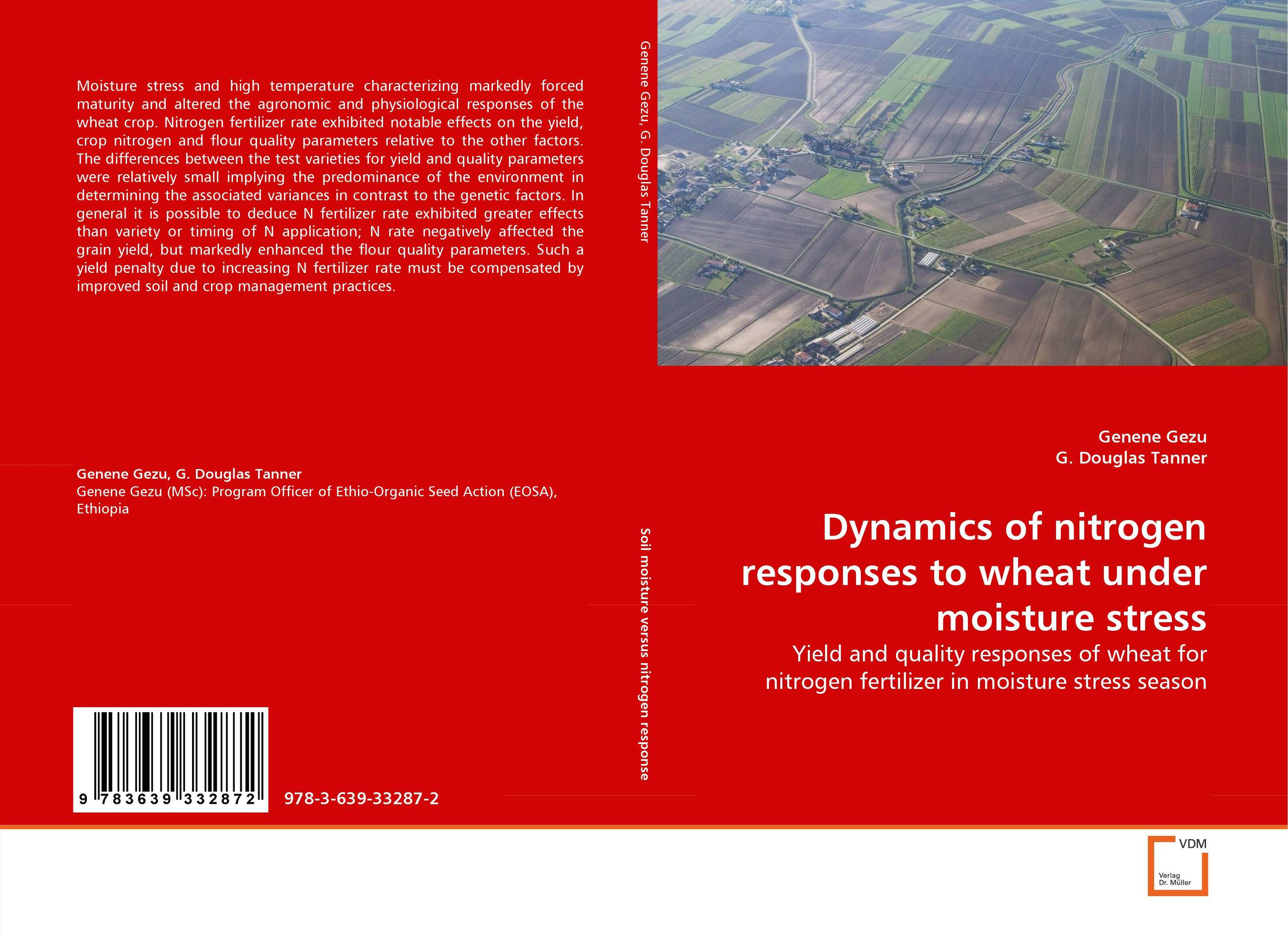 Dynamics of nitrogen responses to wheat under moisture stress
