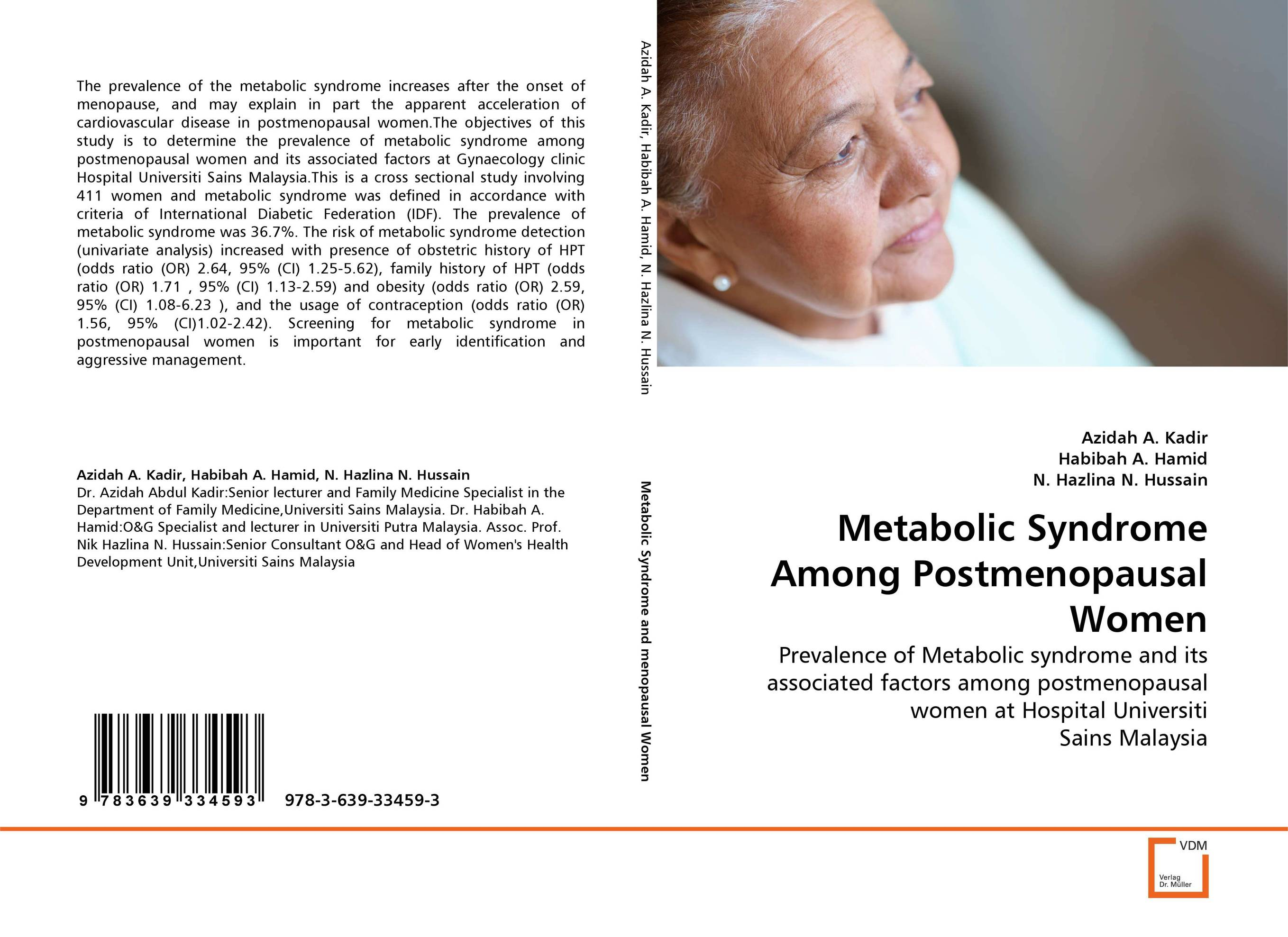 Metabolic Syndrome Among Postmenopausal Women diet ethnicity and the metabolic syndrome