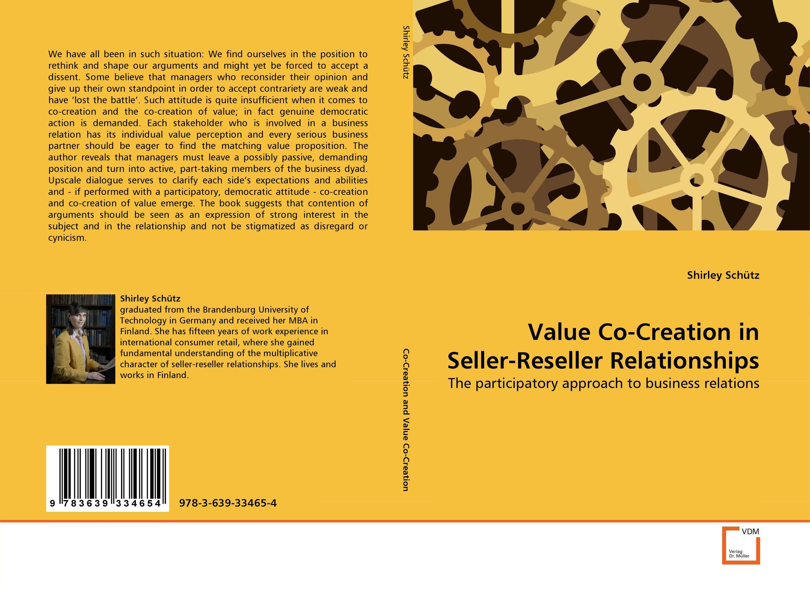 Value Co-Creation in Seller-Reseller Relationships jennifer meyer decision quality value creation from better business decisions