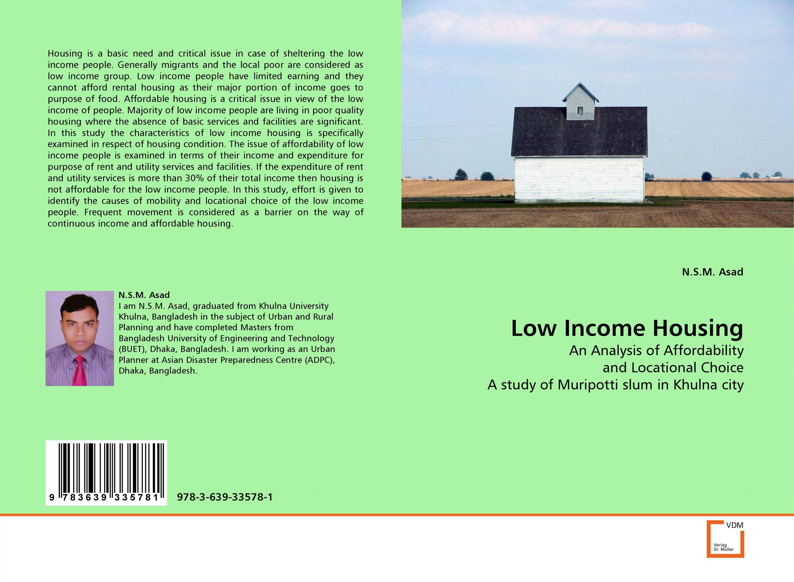 Low Income Housing land tenure housing and low income earners
