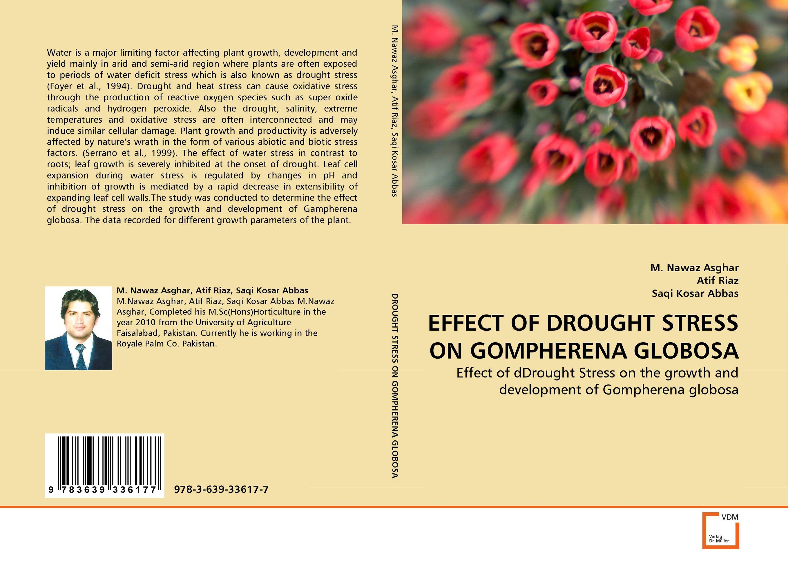 EFFECT OF DROUGHT STRESS ON GOMPHERENA GLOBOSA
