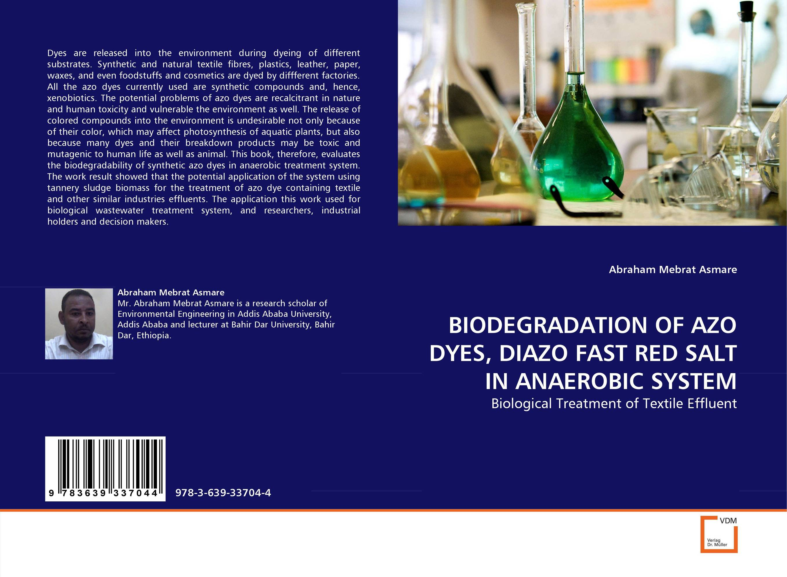 BIODEGRADATION OF AZO DYES, DIAZO FAST RED SALT IN ANAEROBIC SYSTEM