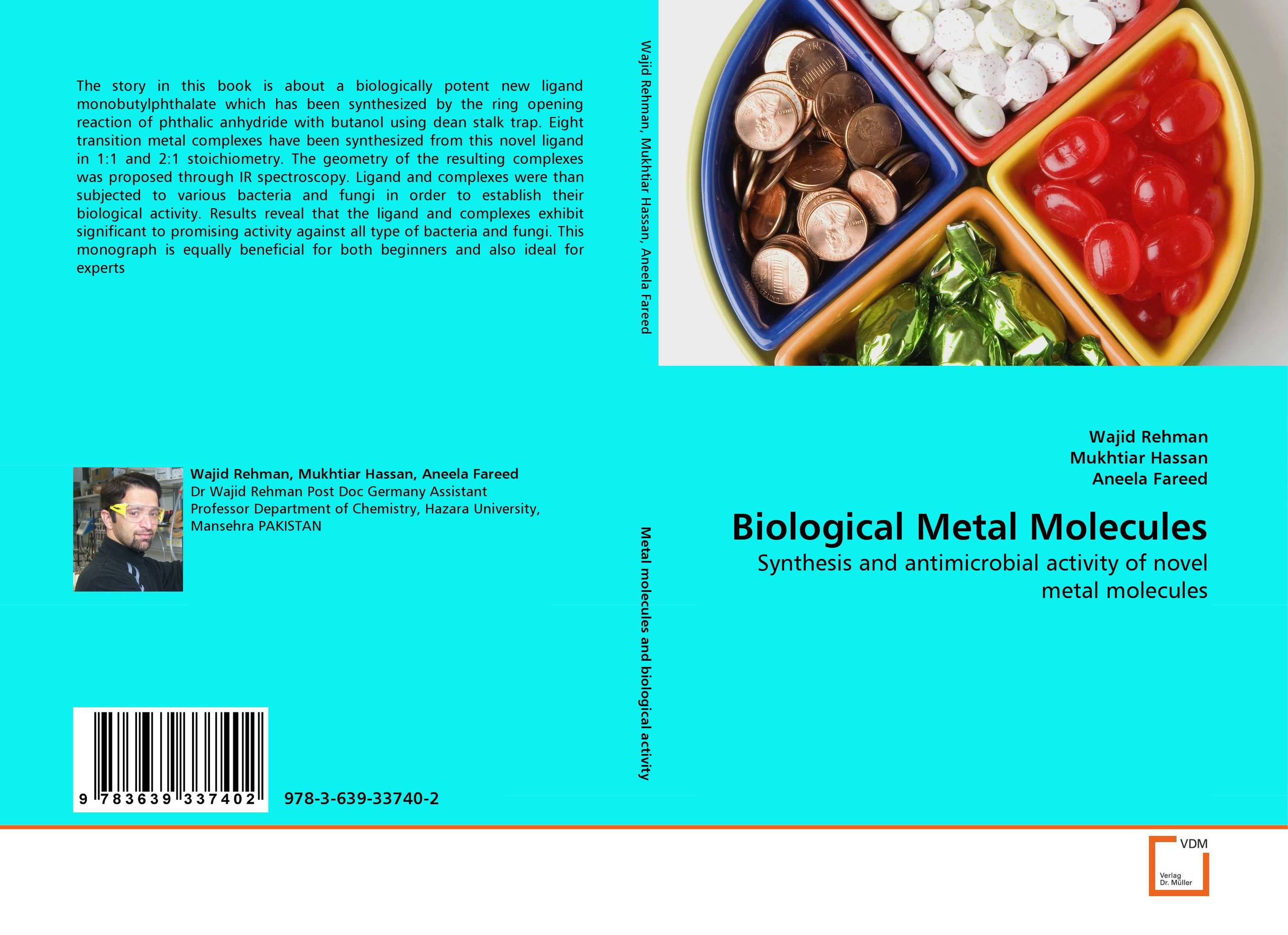 Biological Metal Molecules transition metal complexes biological activity