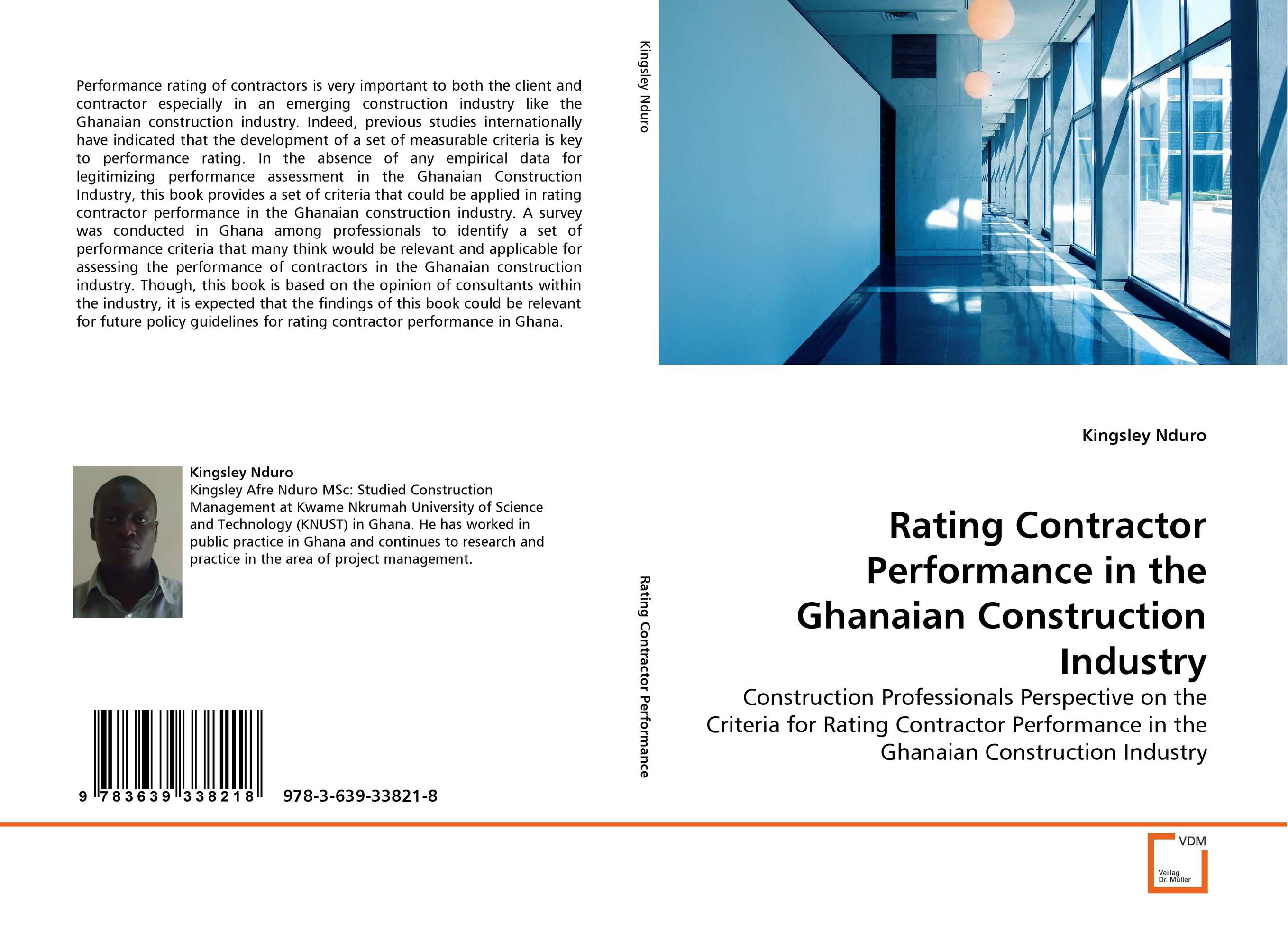Rating Contractor Performance in the Ghanaian Construction Industry