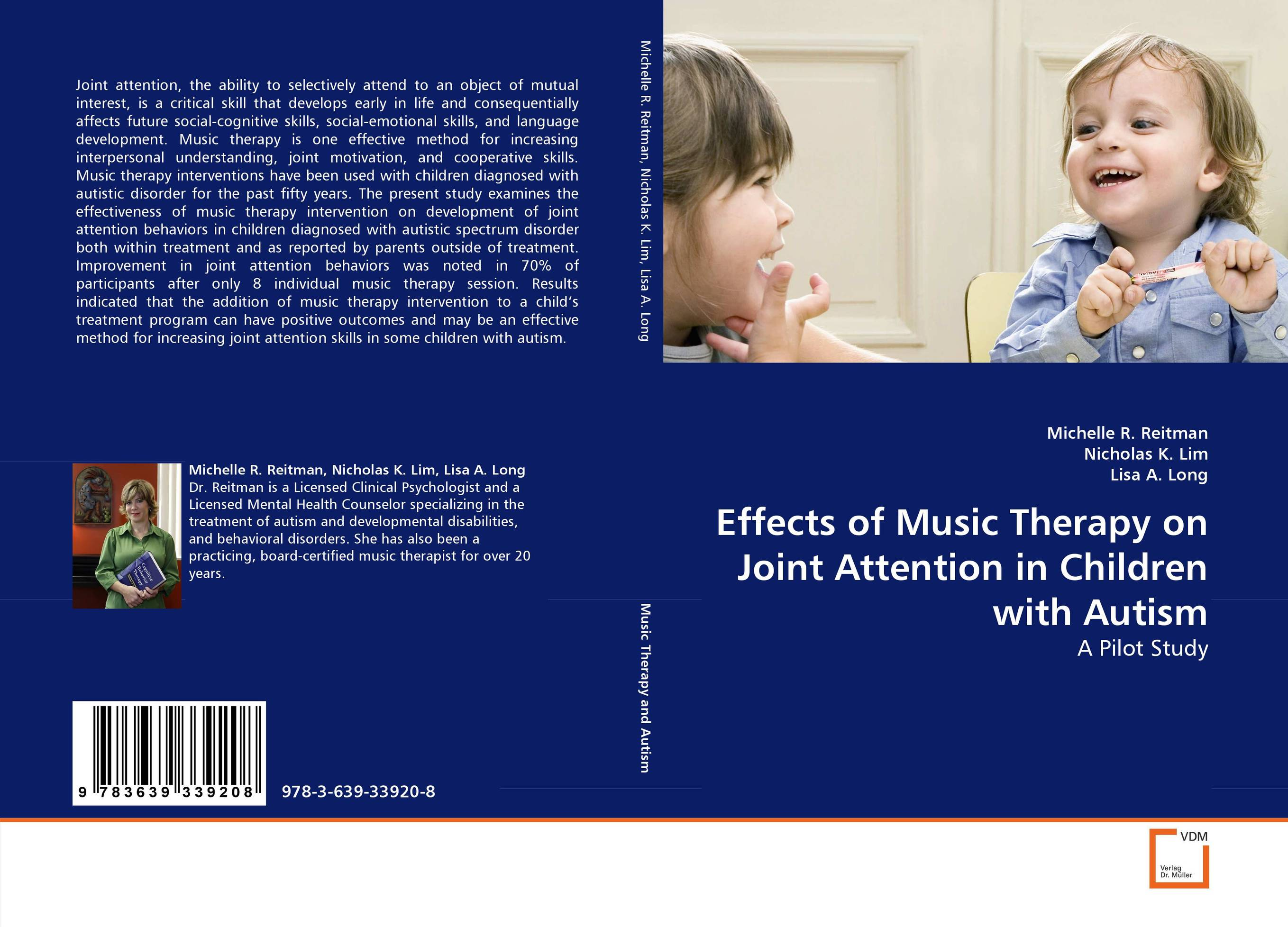 Effects of Music Therapy on Joint Attention in Children with Autism купить