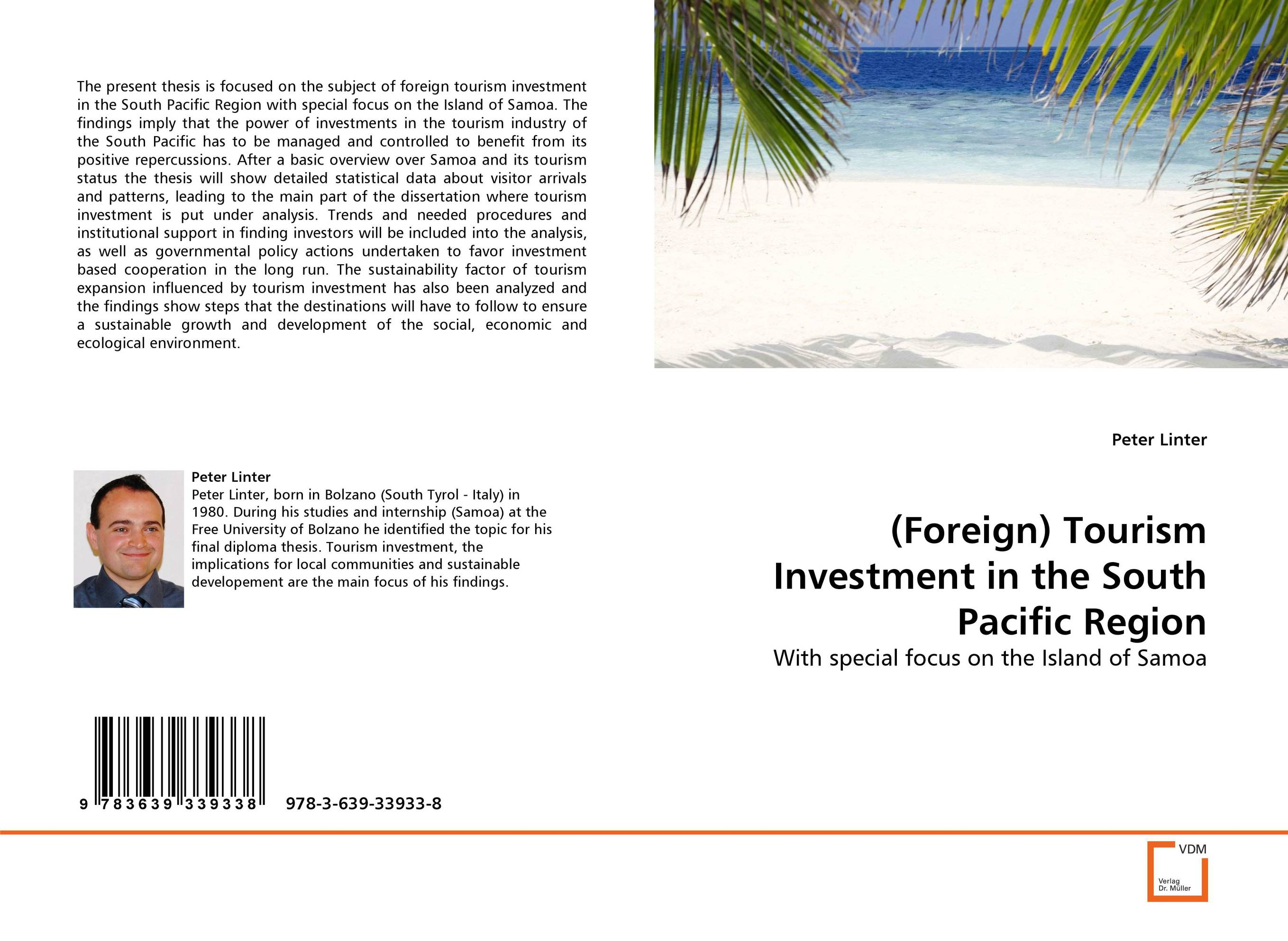 (Foreign) Tourism Investment in the South Pacific Region