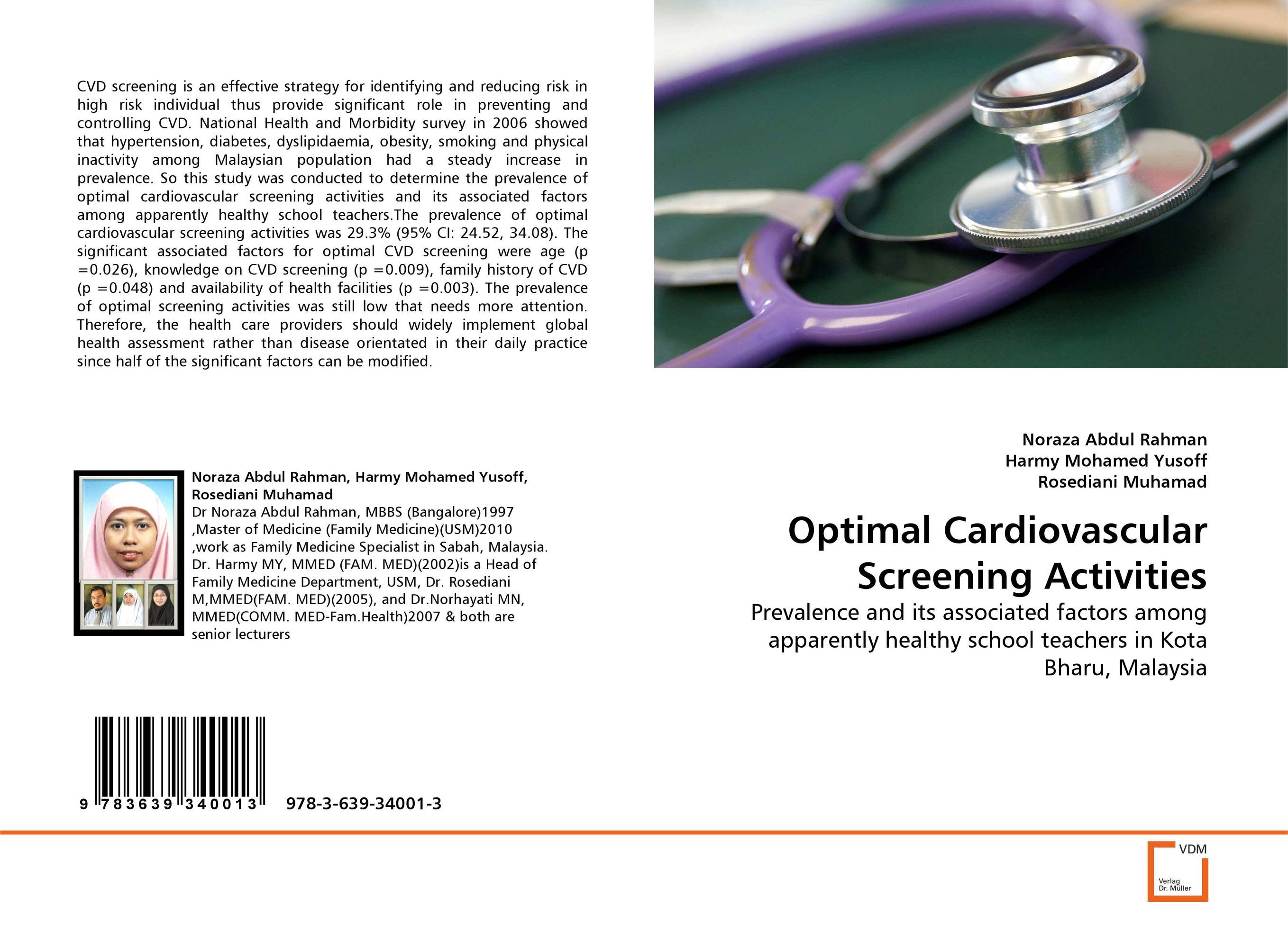Optimal Cardiovascular Screening Activities prostate screening motivating factors and barriers