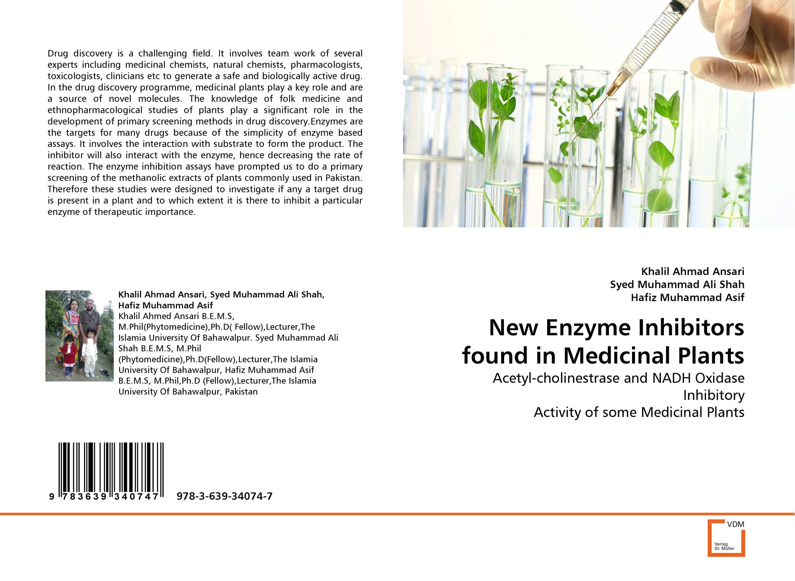 New Enzyme Inhibitors found in Medicinal Plants drug discovery and design