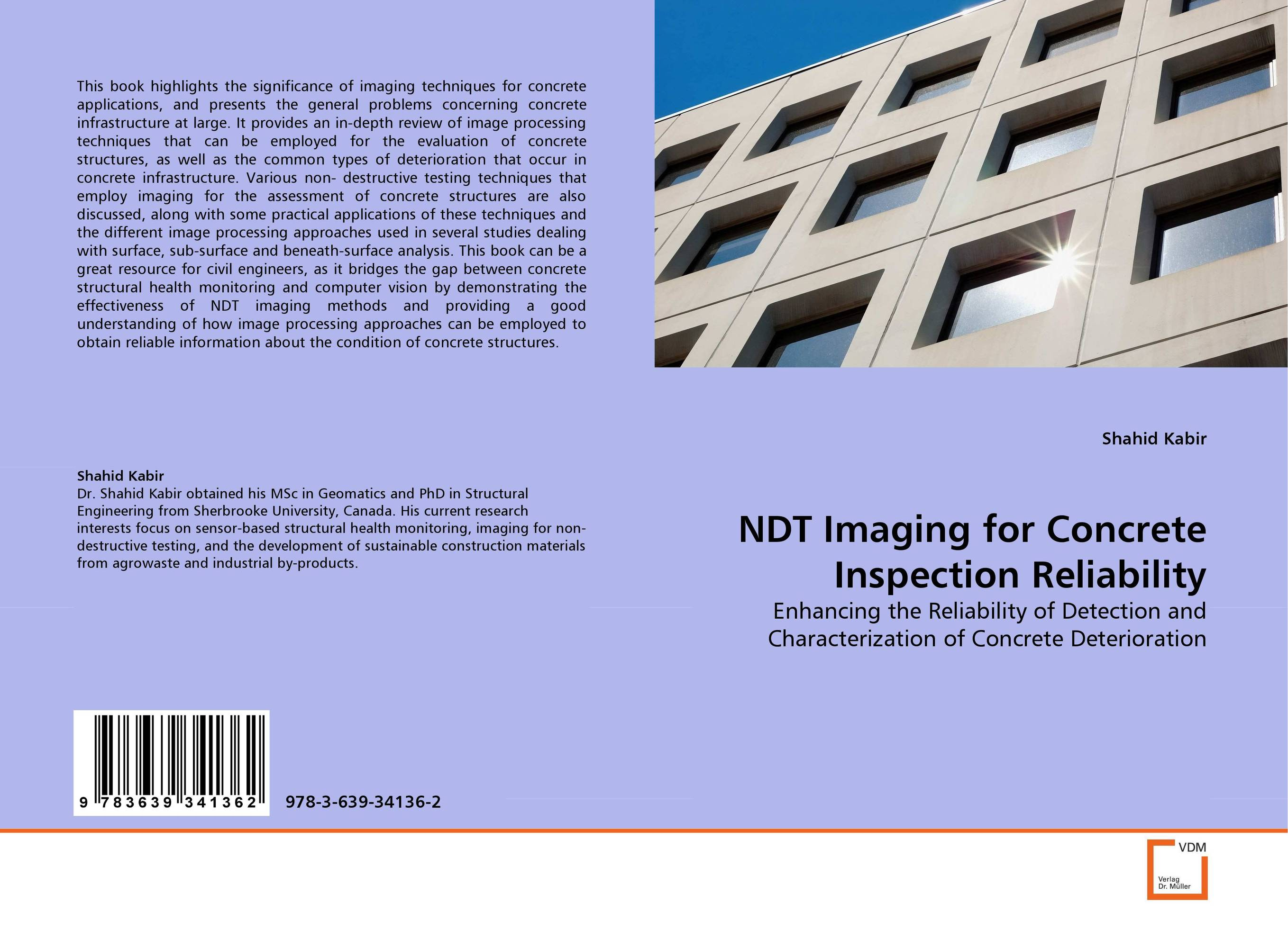 NDT Imaging for Concrete Inspection Reliability microwave imaging for security applications