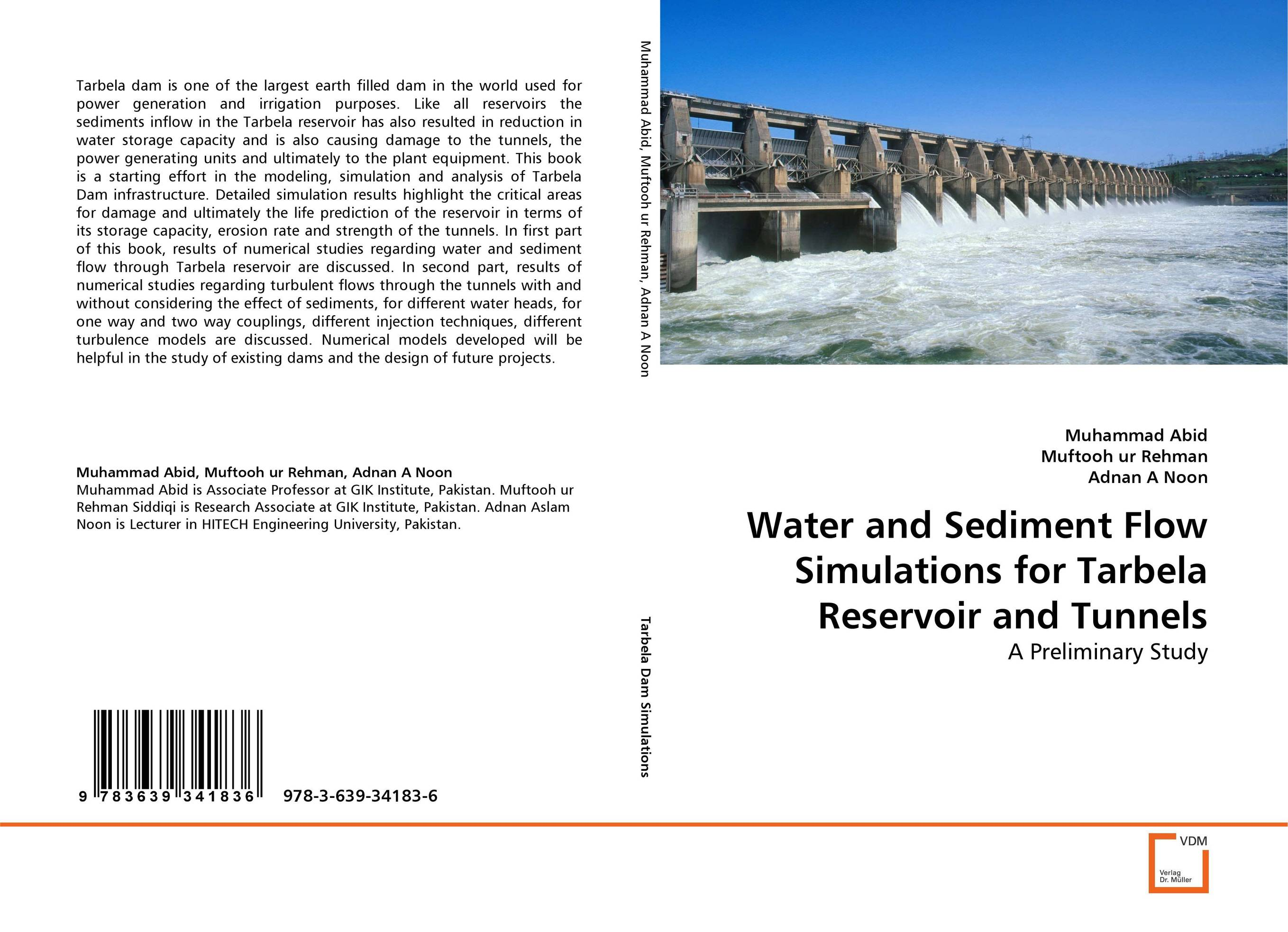 Water and Sediment Flow Simulations for Tarbela Reservoir and Tunnels bride of the water god v 3