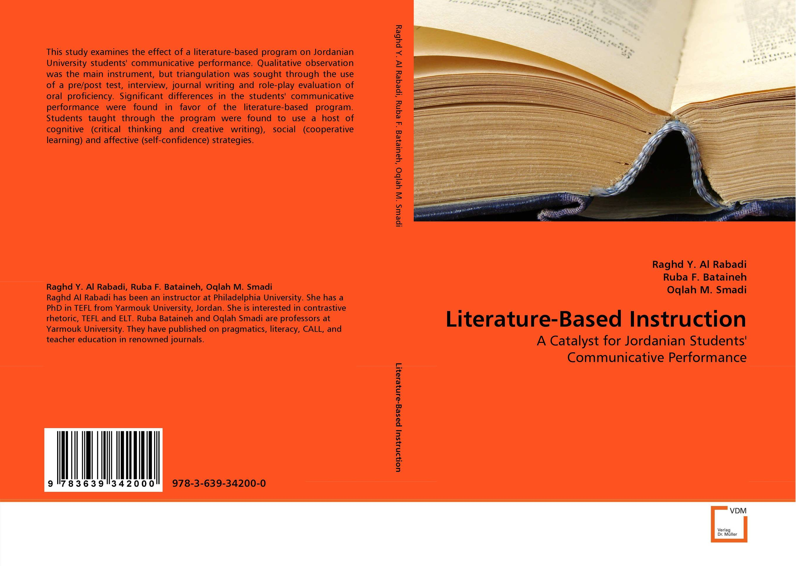 Literature-Based Instruction