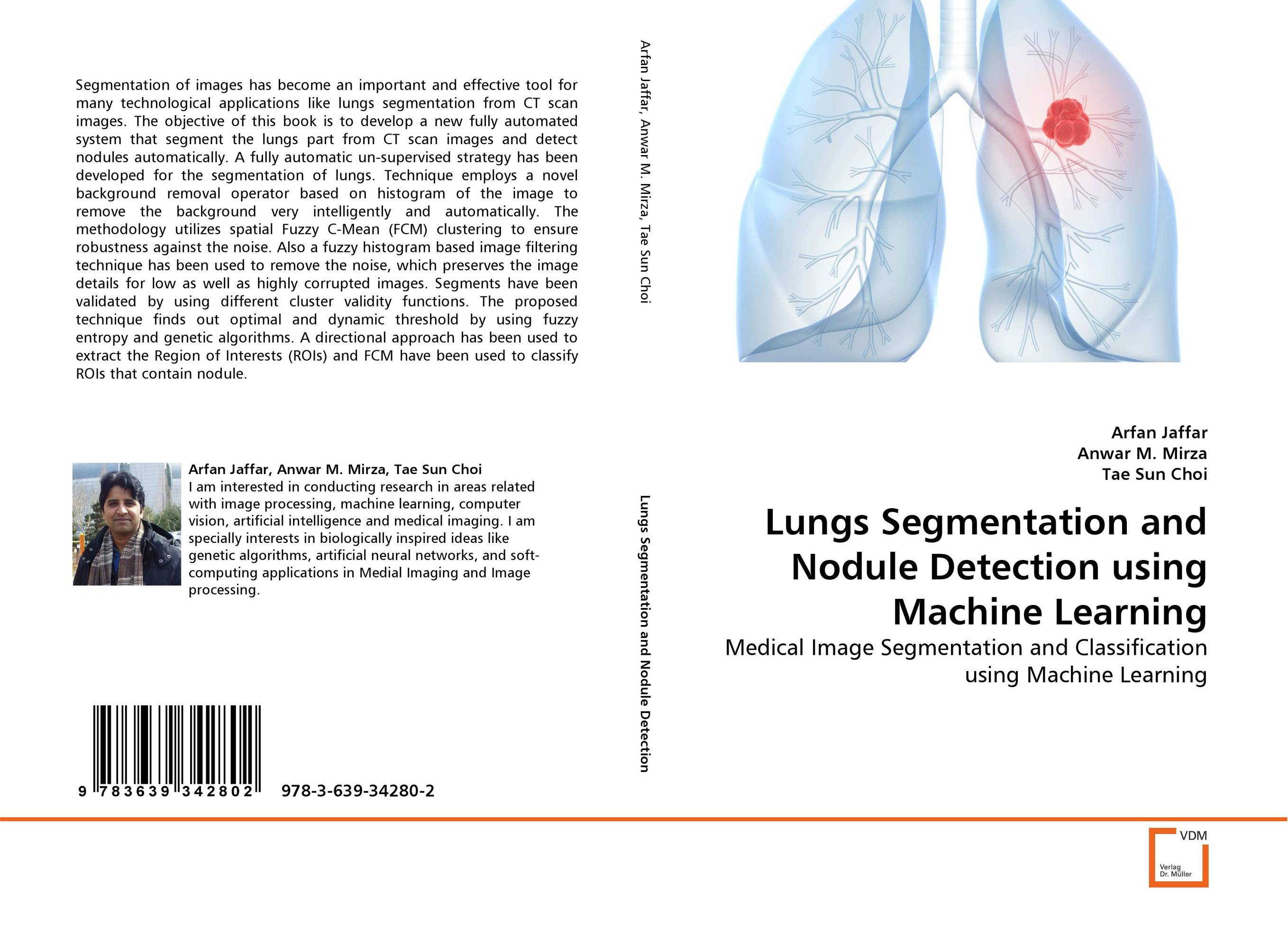 Lungs Segmentation and Nodule Detection using Machine Learning a novel separation technique using hydrotropes