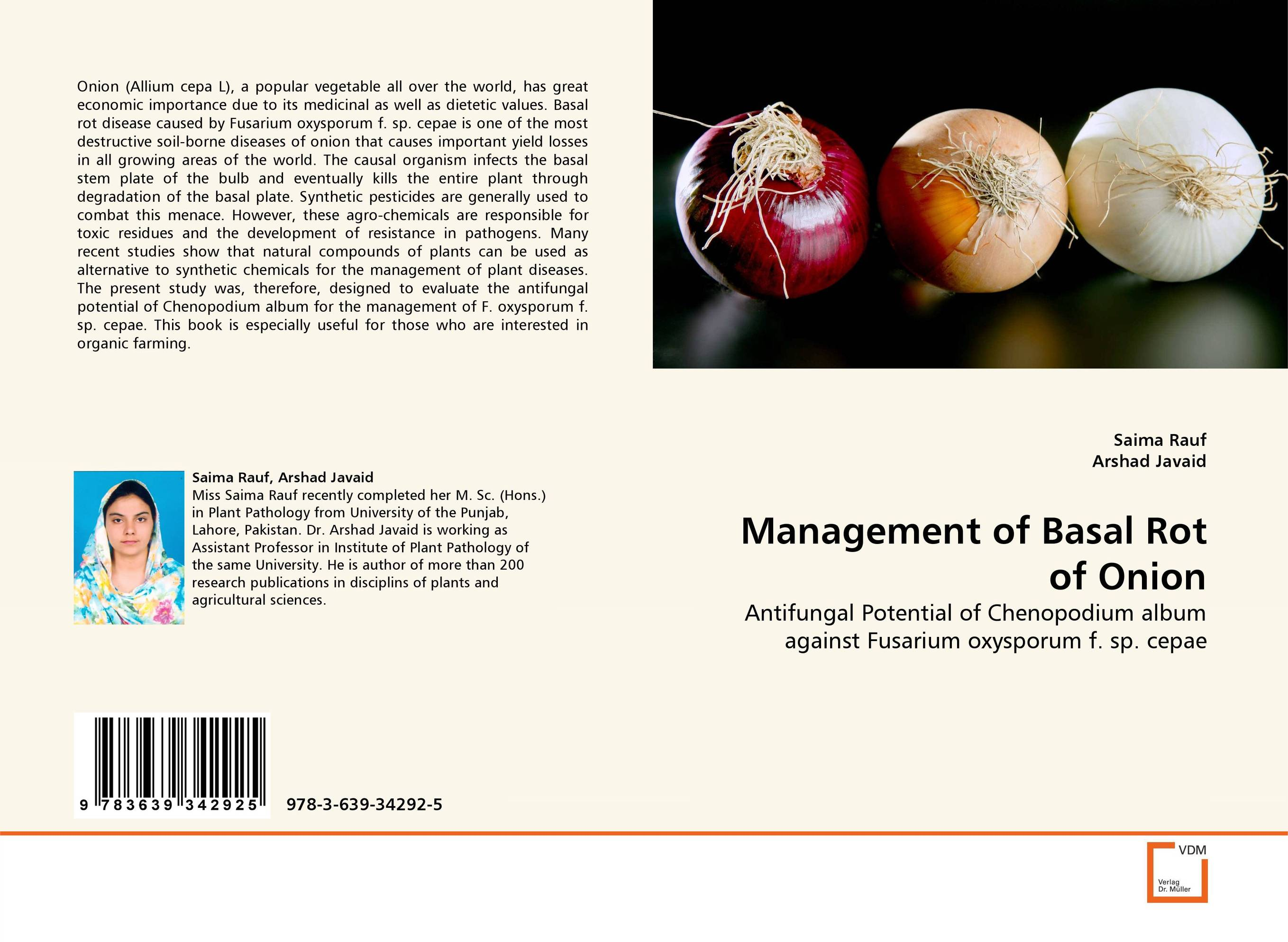 Management of Basal Rot of Onion h n gour pankaj sharma and rakesh kaushal pathological aspects and management of root rot of groundnut