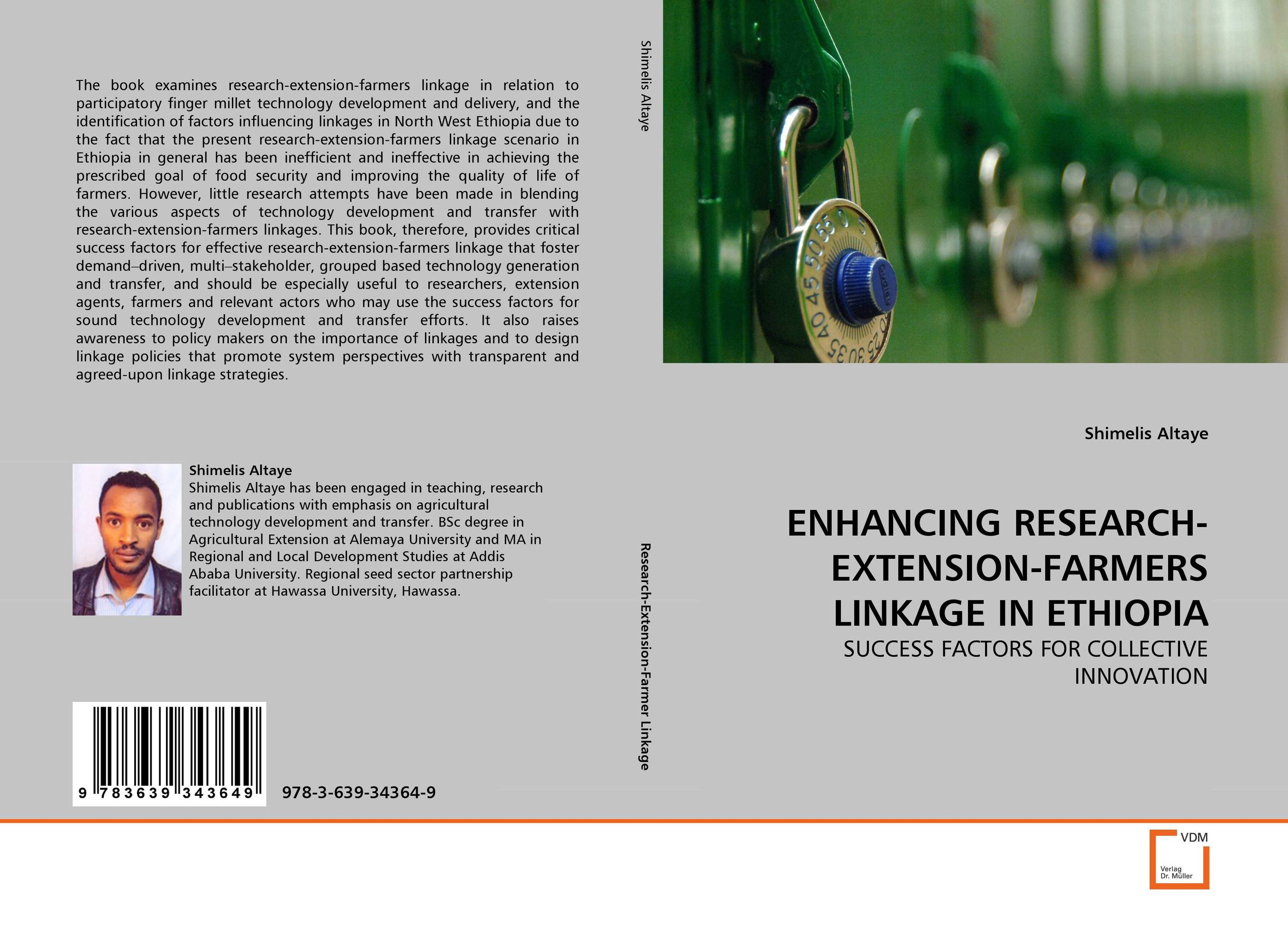 ENHANCING RESEARCH-EXTENSION-FARMERS LINKAGE IN ETHIOPIA буддийский сувенир sheng good research and development ssyf a19 10
