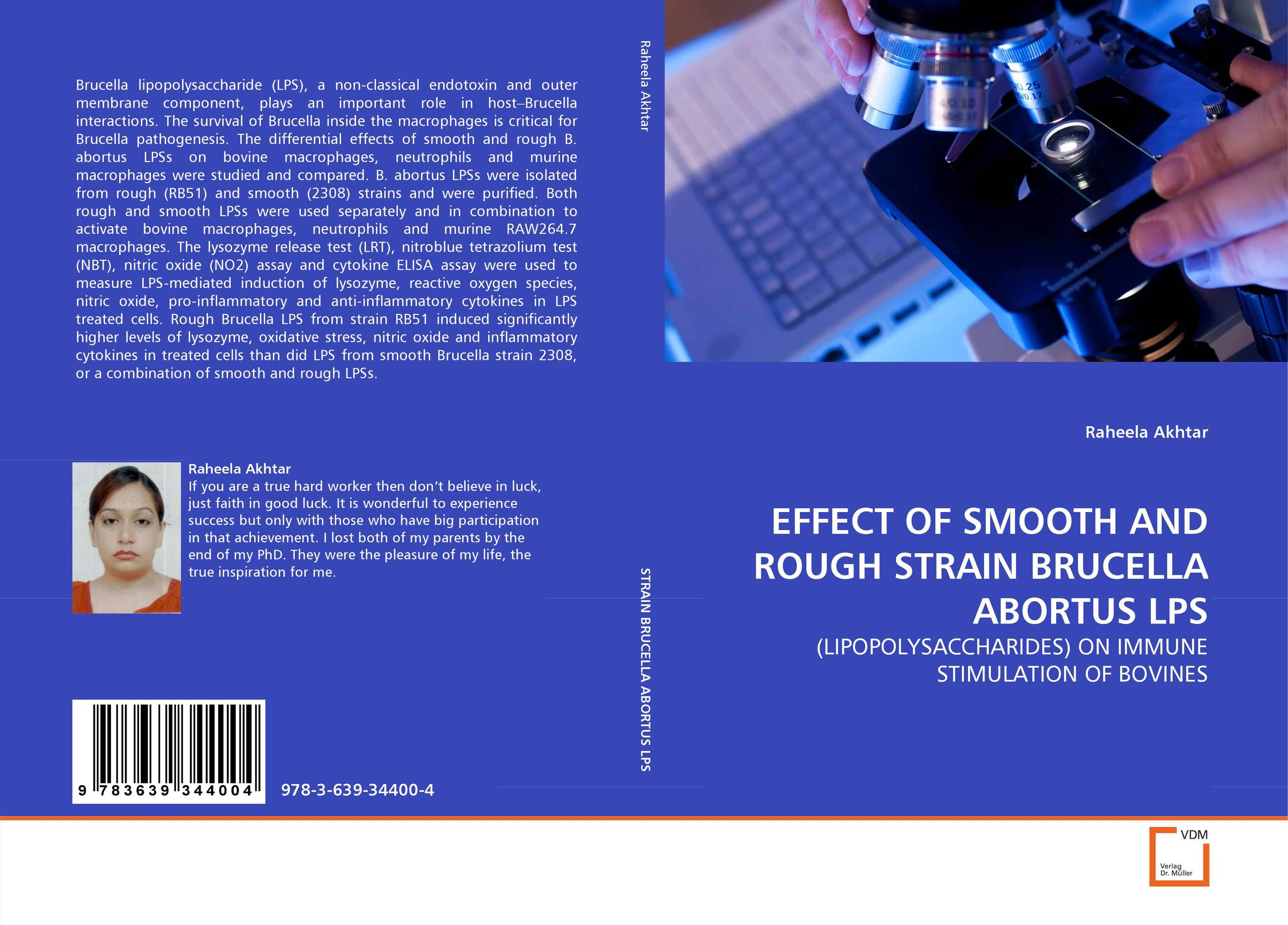 EFFECT OF SMOOTH AND ROUGH STRAIN BRUCELLA ABORTUS LPS parnas bibliotheca microbiologica brucella phages properties and application