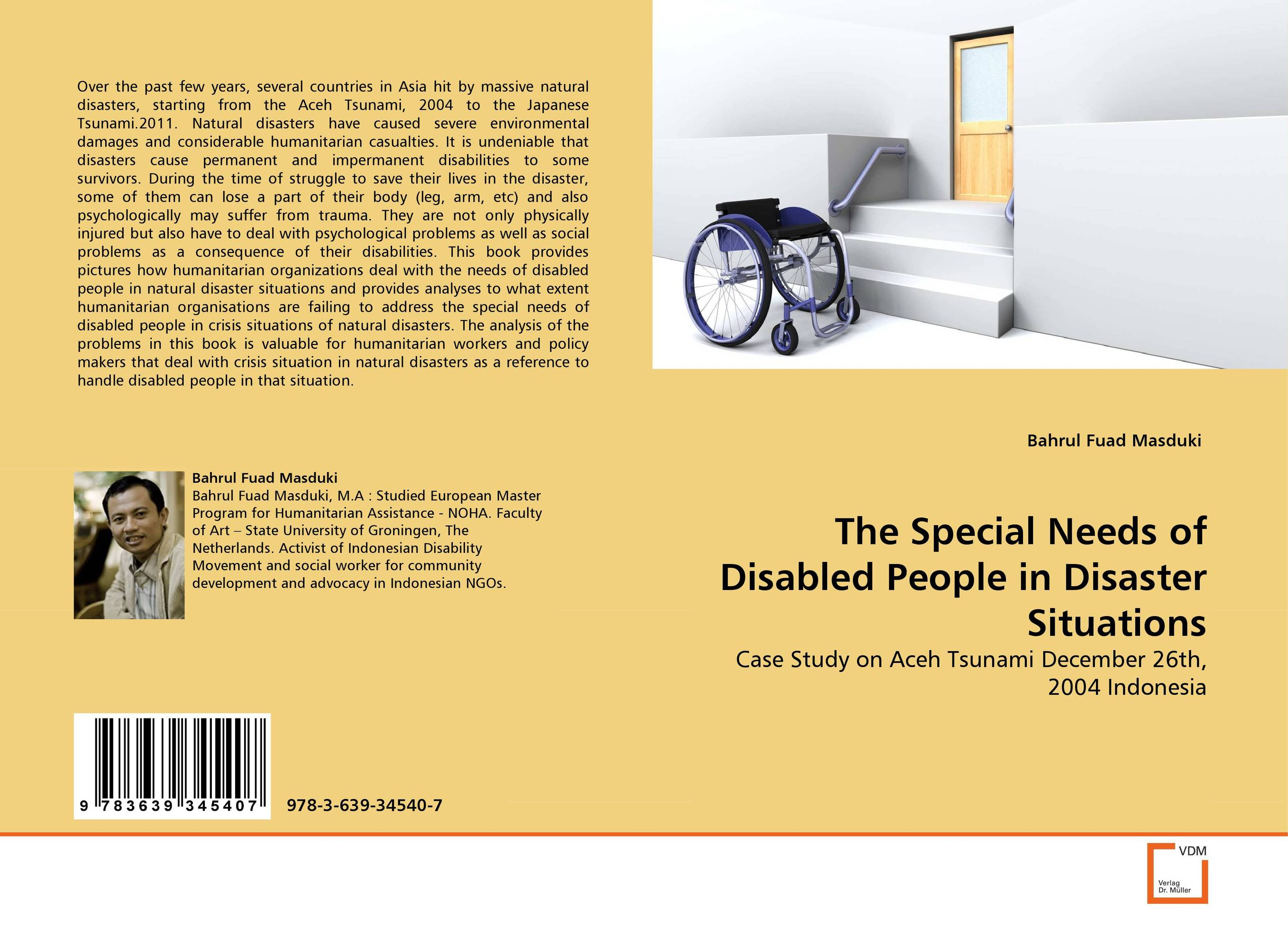 The Special Needs of Disabled People in Disaster Situations alvin ho allergic to camping hiking and other natural disasters