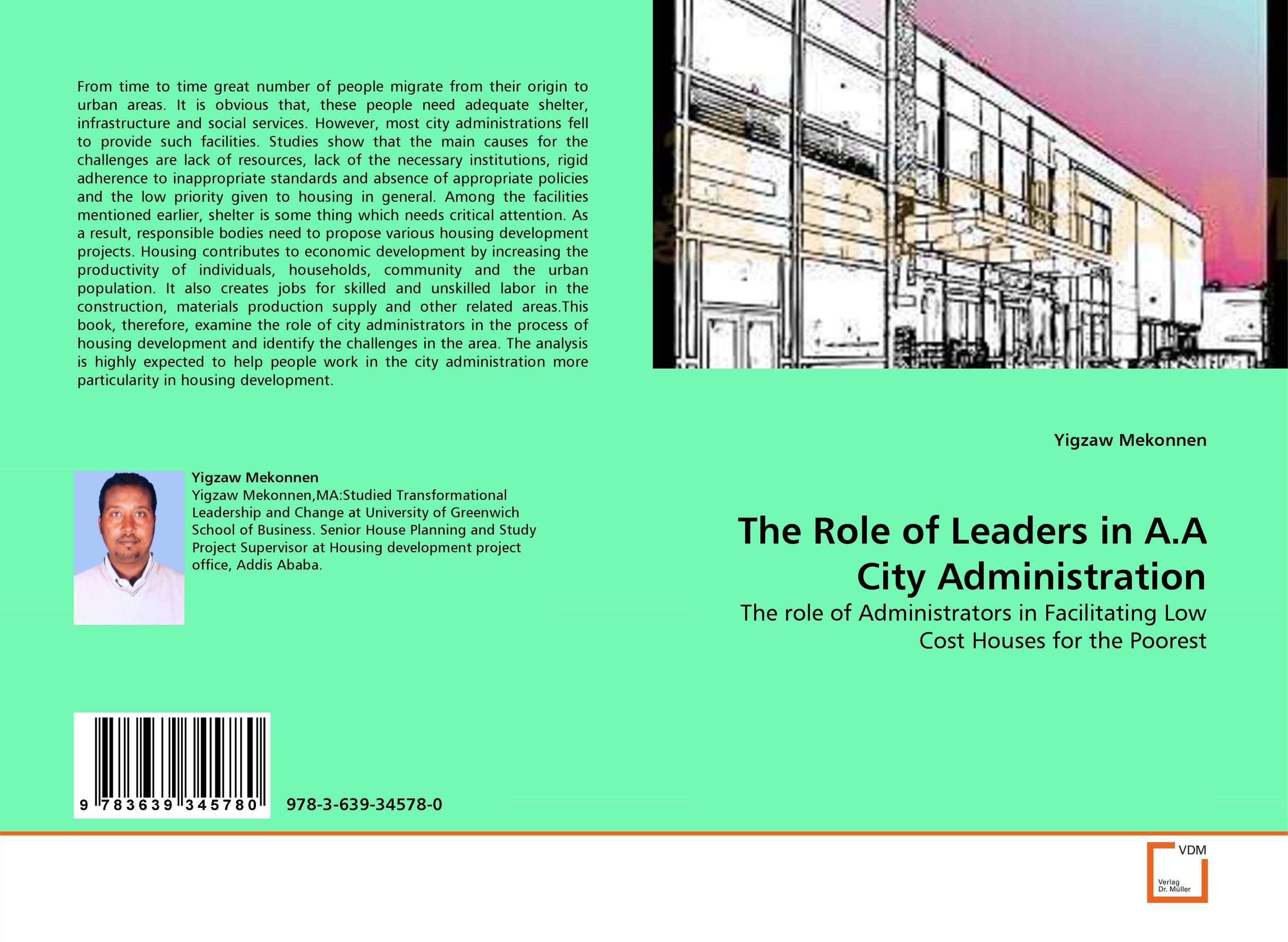 The Role of Leaders in A.A City Administration the role of legal feeling in the criminal legislation