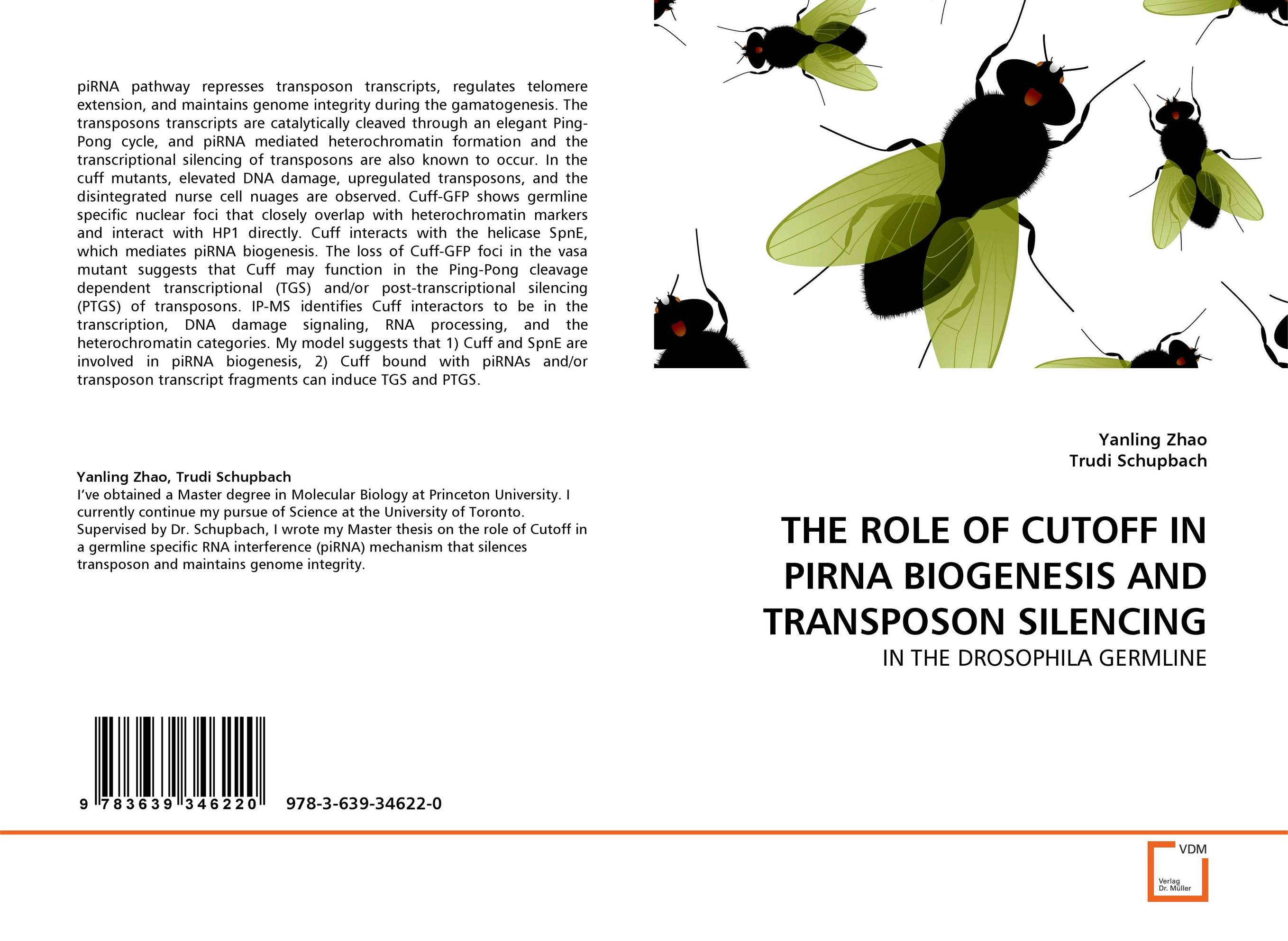 THE ROLE OF CUTOFF IN PIRNA BIOGENESIS AND TRANSPOSON SILENCING цена и фото
