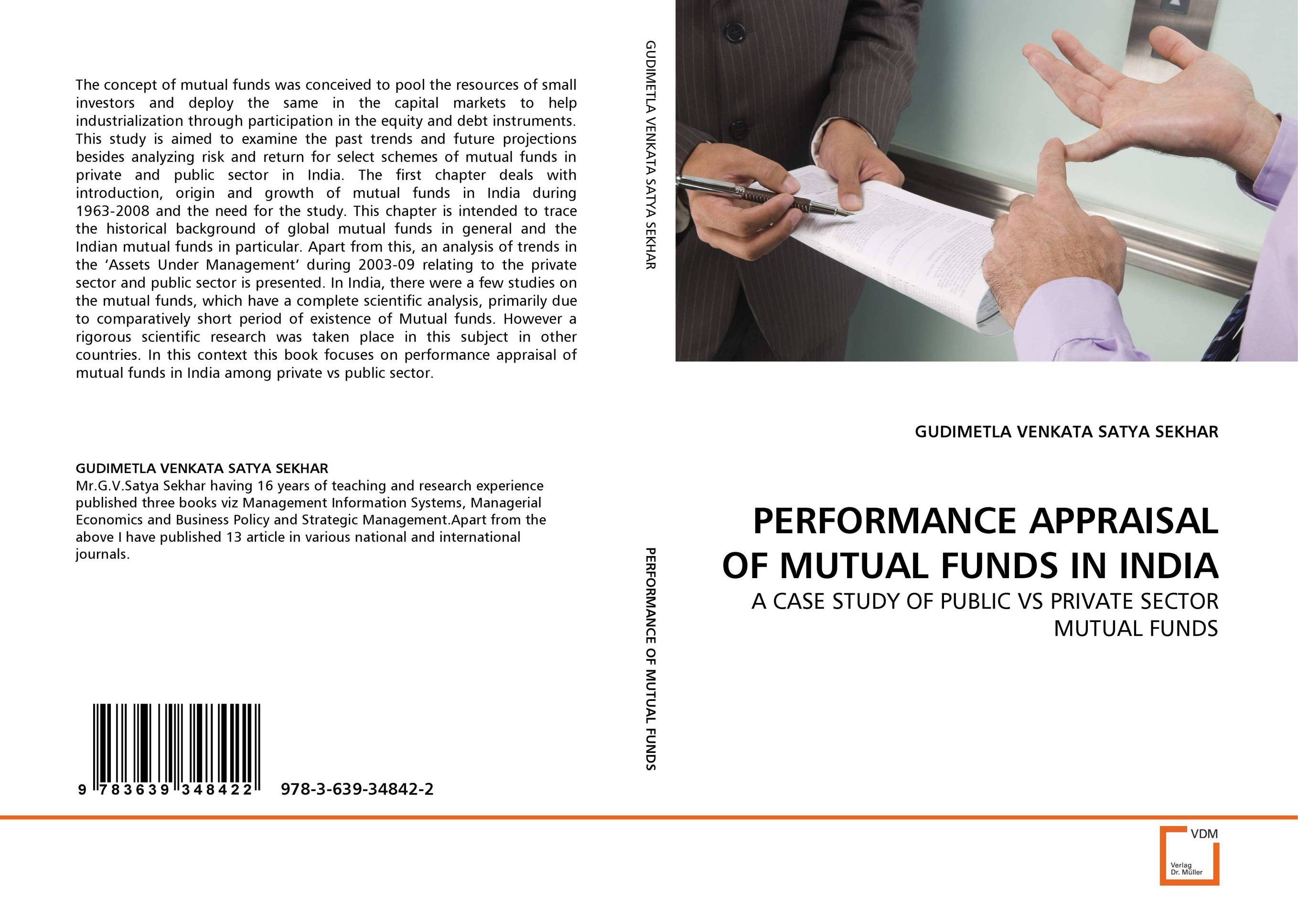 PERFORMANCE APPRAISAL OF MUTUAL FUNDS IN INDIA john haslem a mutual funds portfolio structures analysis management and stewardship