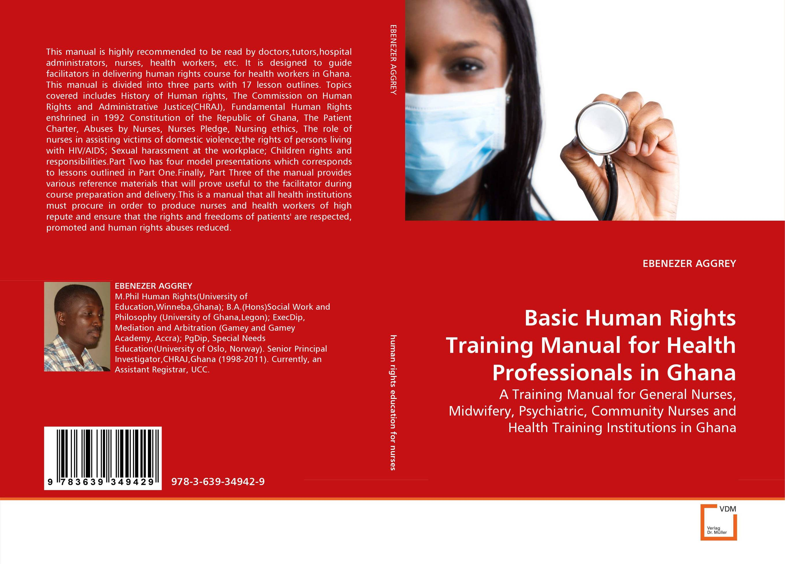 Basic Human Rights Training Manual for Health Professionals in Ghana education training and human rights of the prisoners
