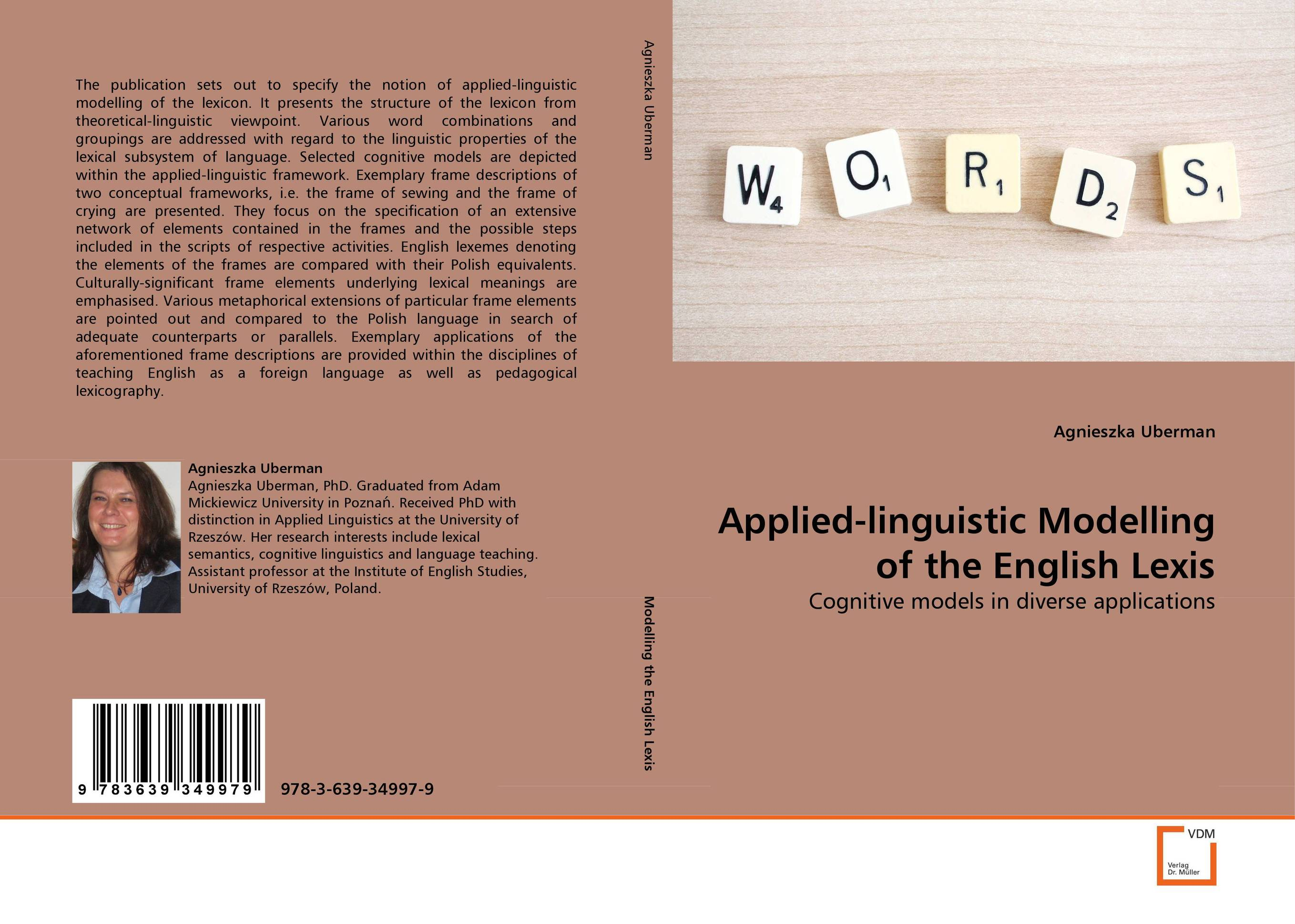 Applied-linguistic Modelling of the English Lexis katz an integrated theory of linguistic descriptions pr only