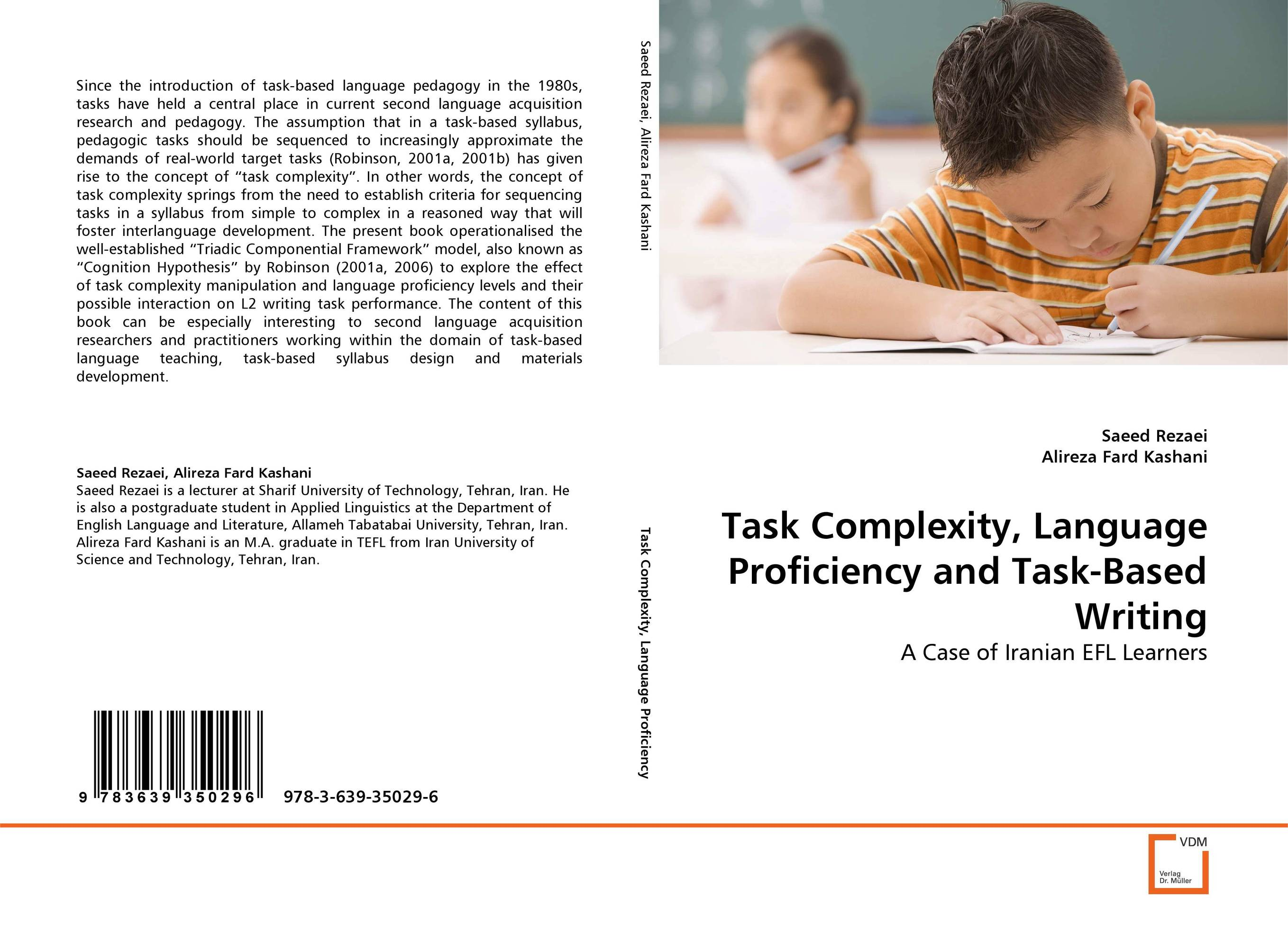 Task Complexity, Language Proficiency and Task-Based Writing david willis doing task based teaching