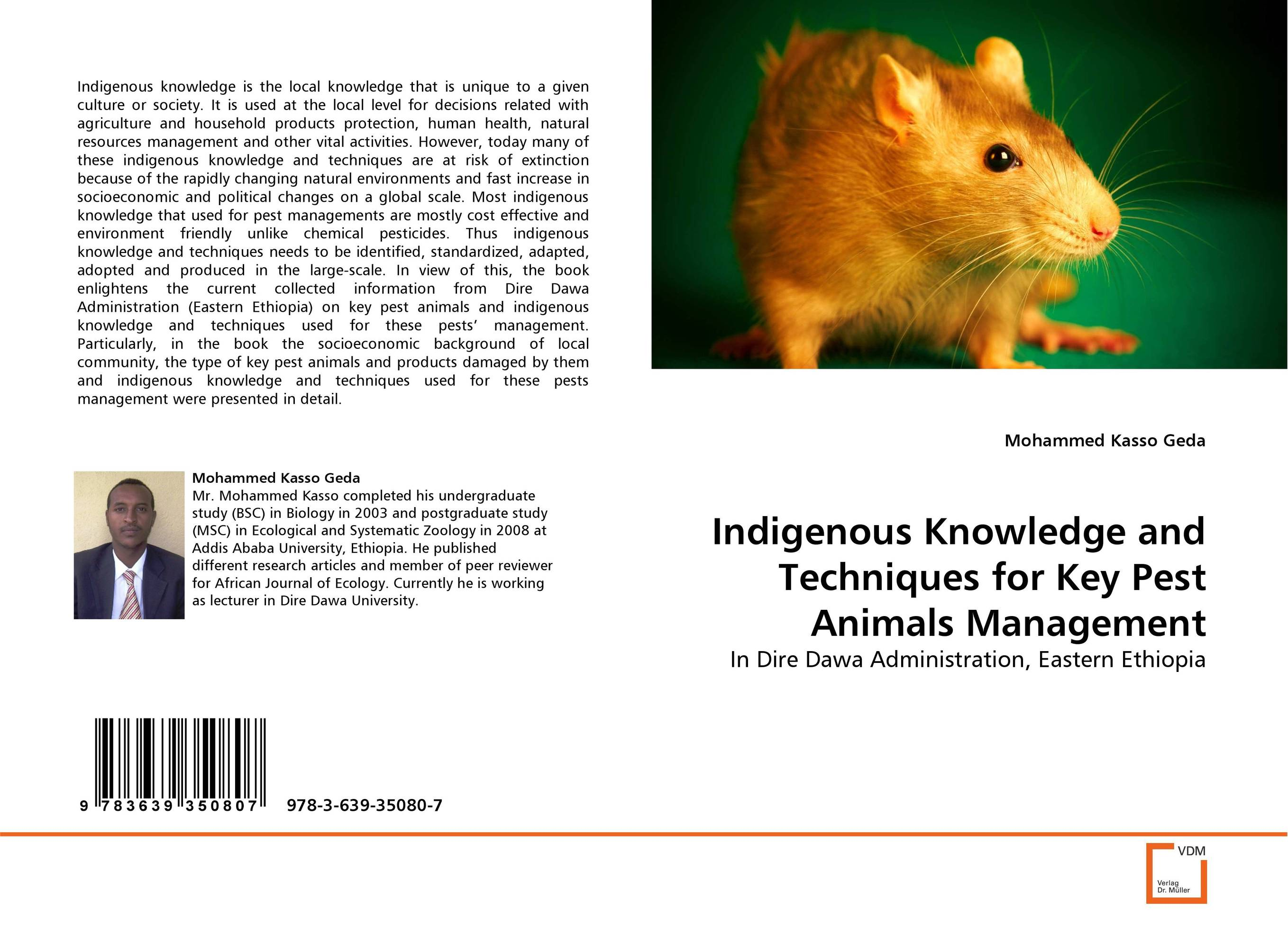 Indigenous Knowledge and Techniques for Key Pest Animals Management indigenous knowledge and techniques for key pest animals management
