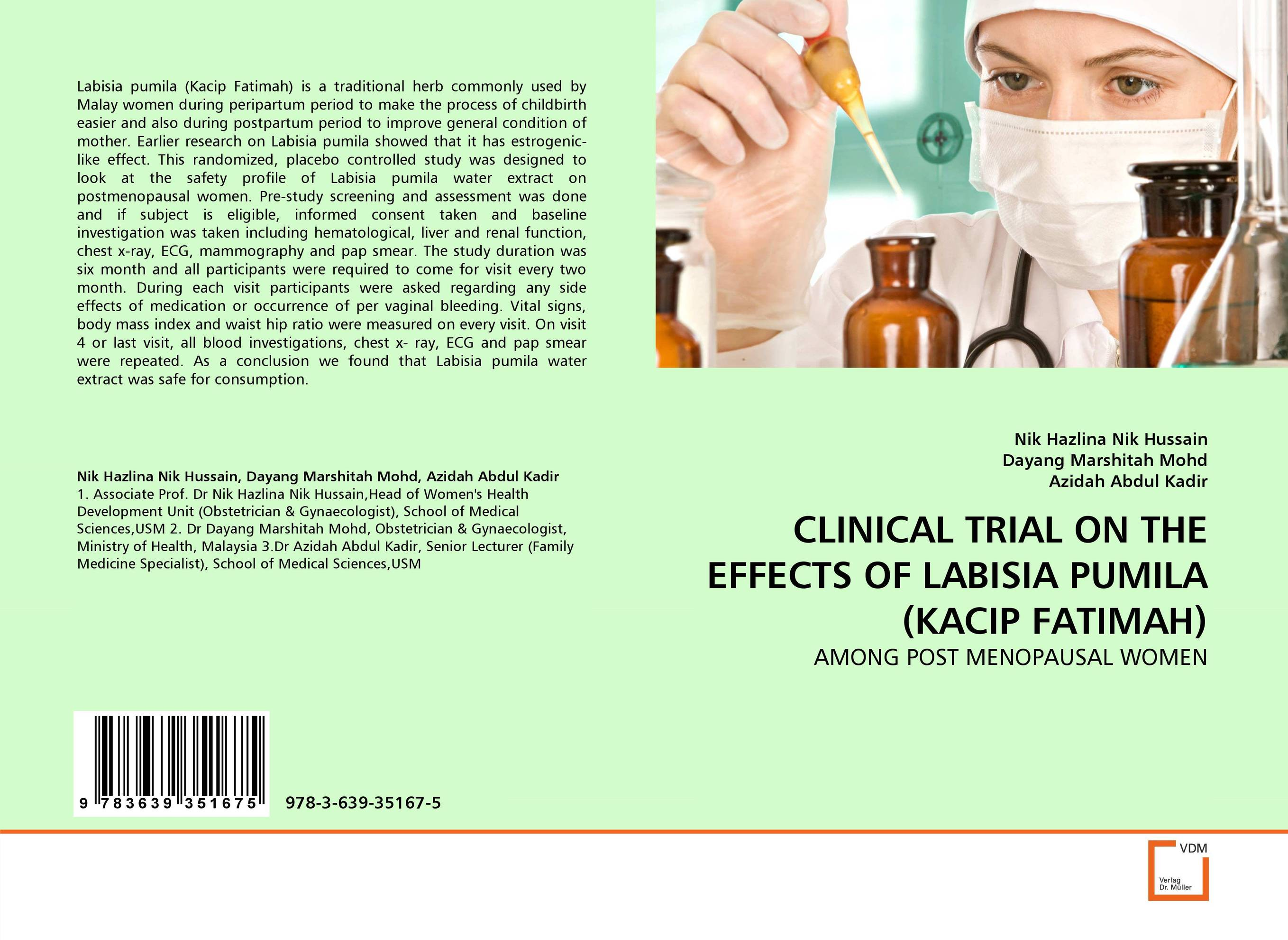 CLINICAL TRIAL ON THE EFFECTS OF LABISIA PUMILA (KACIP FATIMAH) x ray crystallographic and theoretical investigations on aromatic compounds