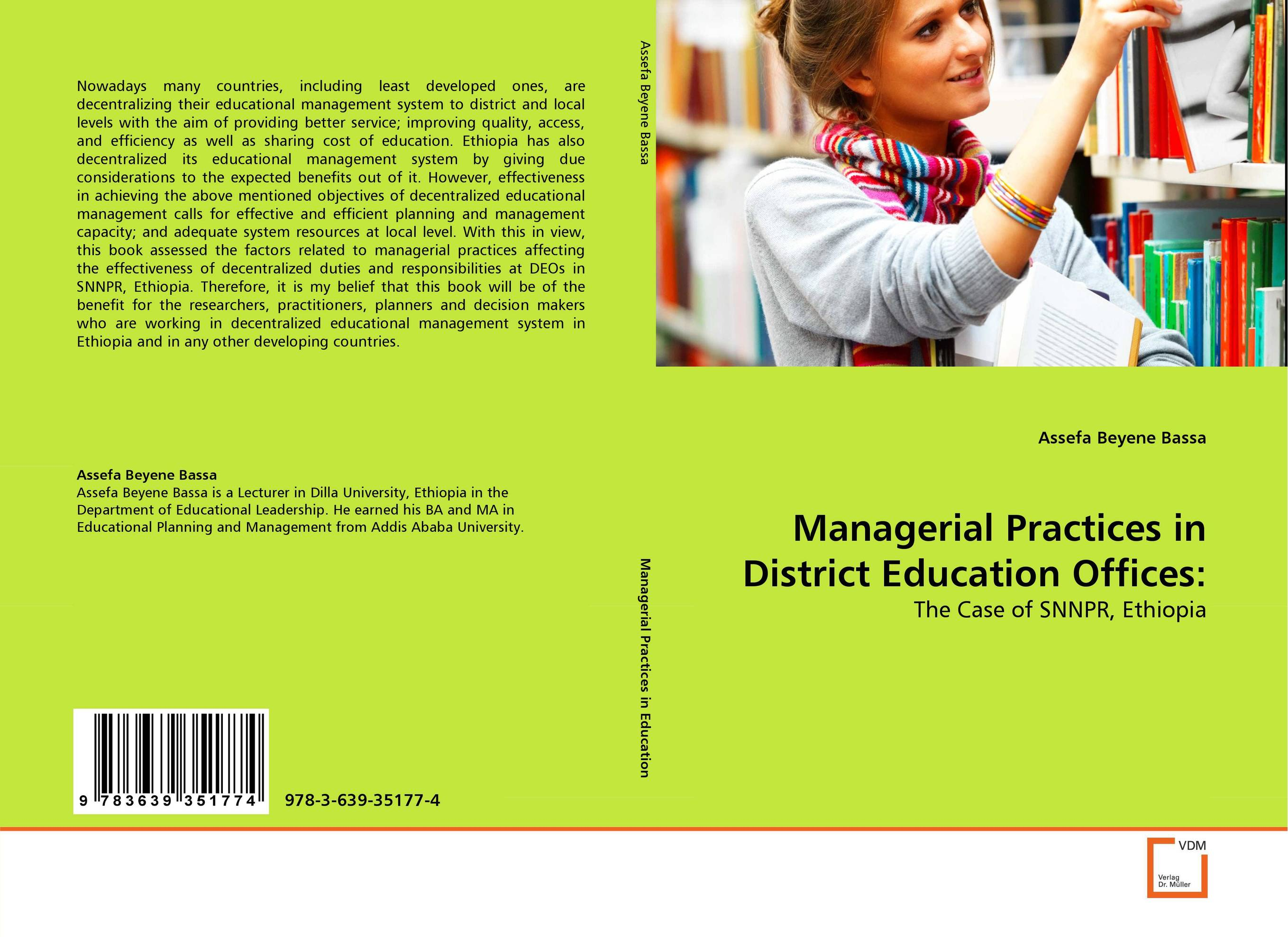 Managerial Practices in District Education Offices: educational change in ethiopia