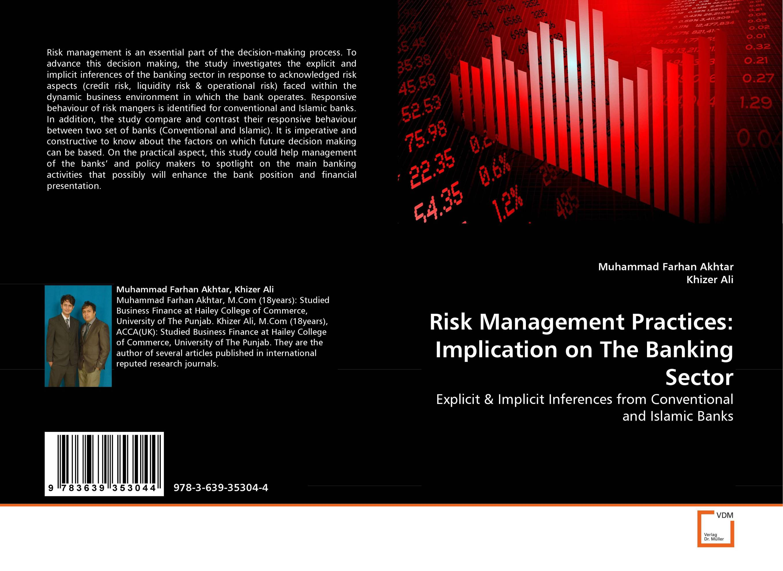 Risk Management Practices: Implication on The Banking Sector credit and risk analysis by banks