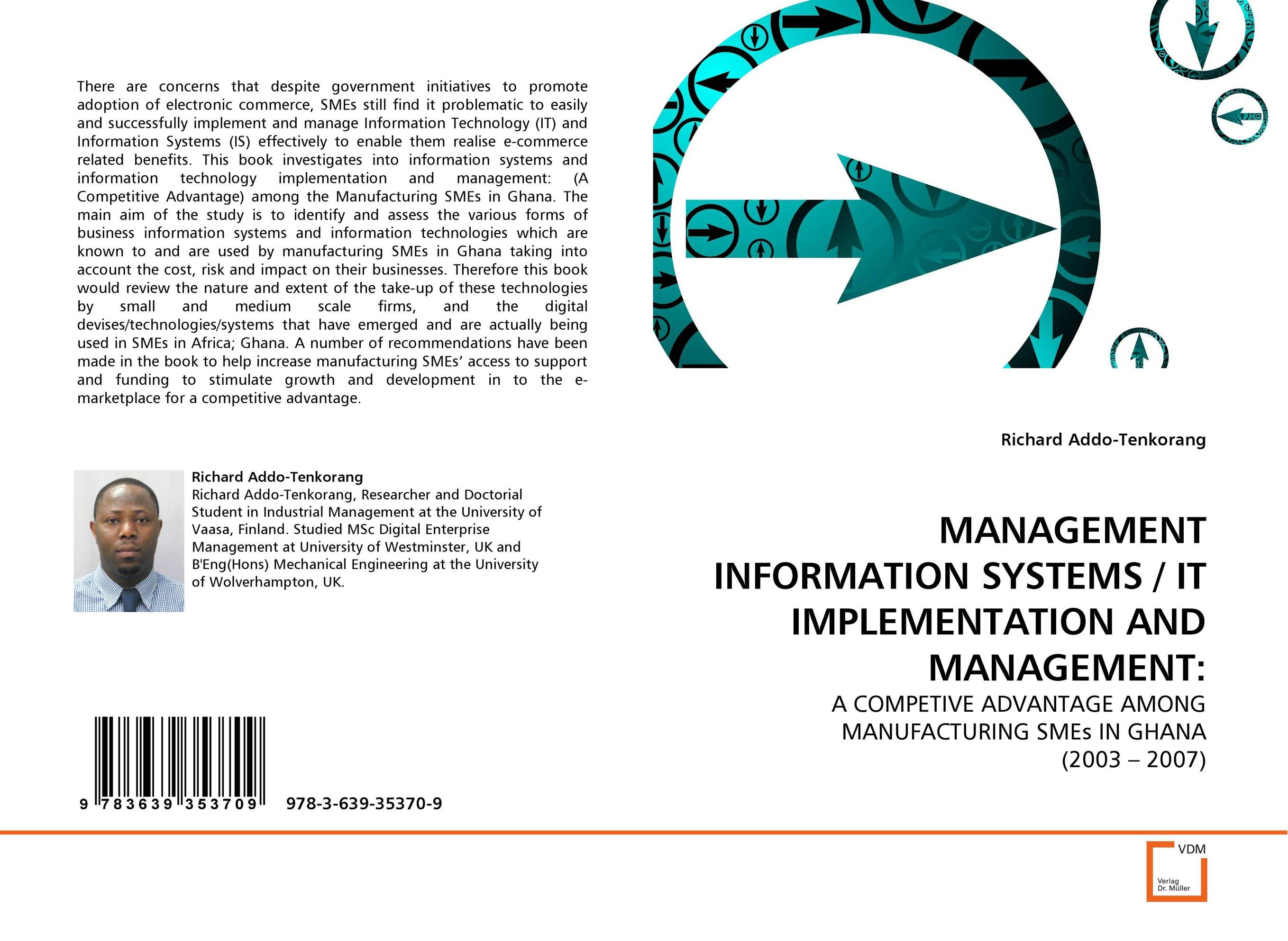 MANAGEMENT INFORMATION SYSTEMS / IT IMPLEMENTATION AND MANAGEMENT: robert hillard information driven business how to manage data and information for maximum advantage