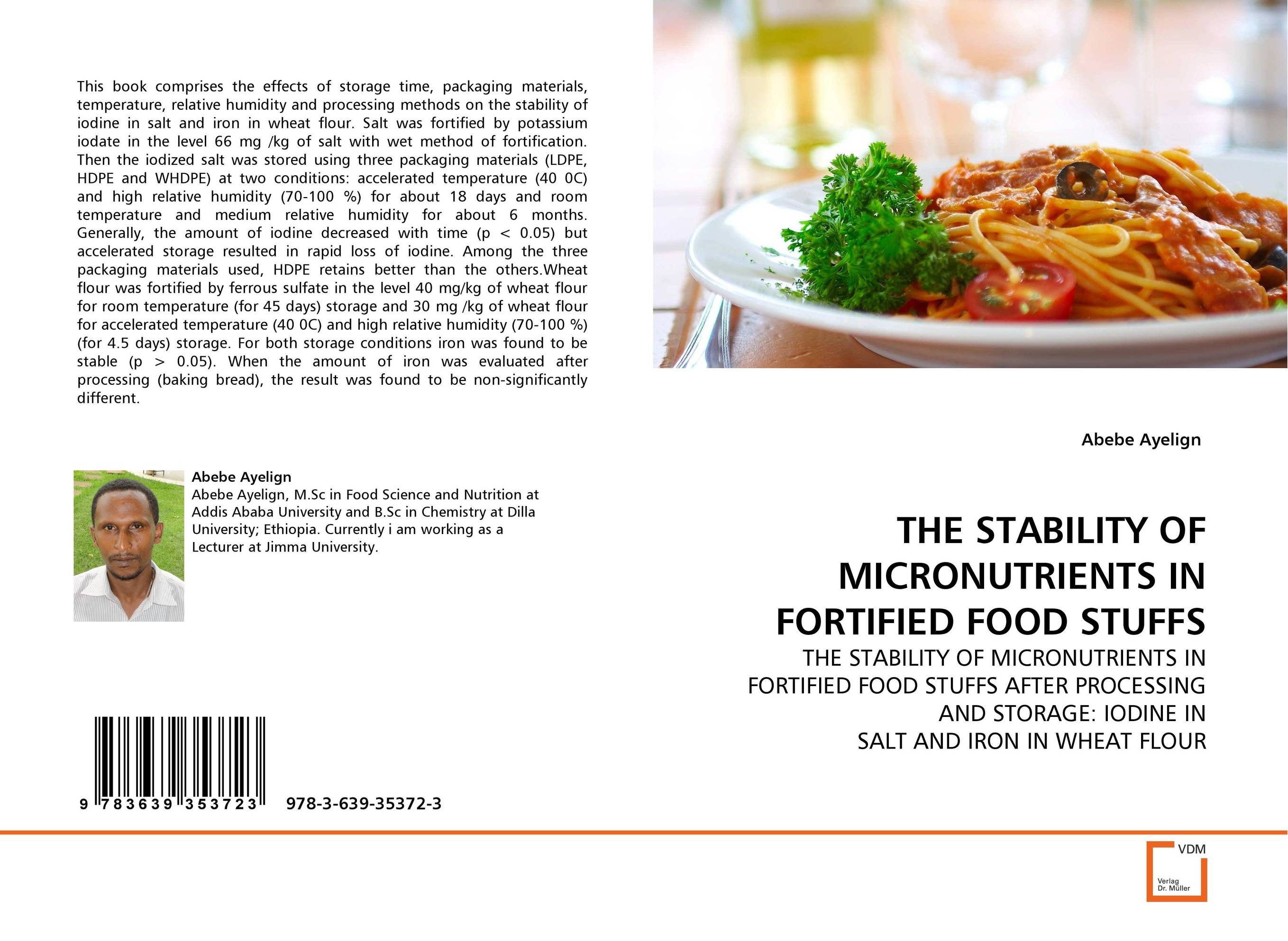 THE STABILITY OF MICRONUTRIENTS IN FORTIFIED FOOD STUFFS 8 in 1 multi functional anemometer temperature and humidity cold dew point illumination at sea level barometer