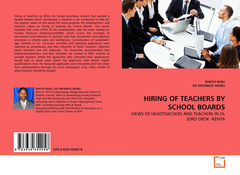 HIRING OF TEACHERS BY SCHOOL BOARDS female head teachers administrative challenges in schools in kenya