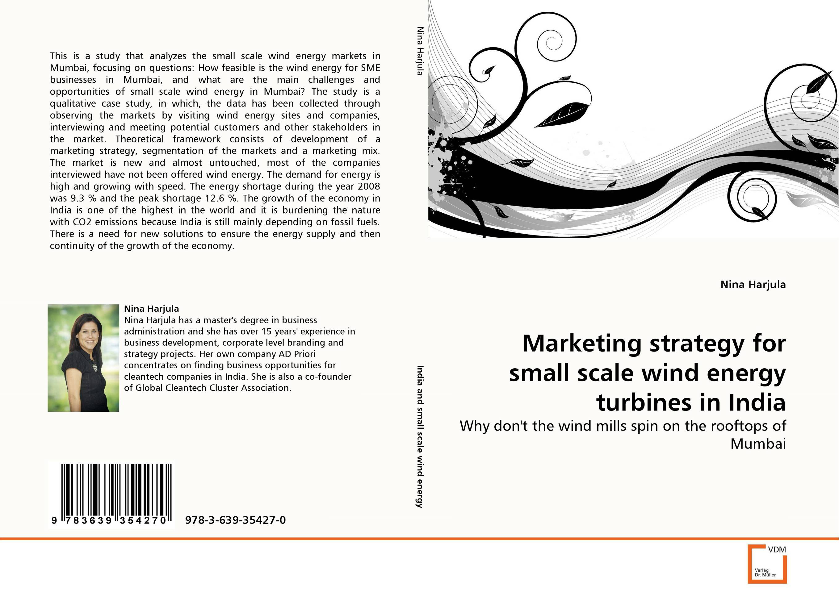 Marketing strategy for small scale wind energy turbines in India impact of wind energy on reactive power and voltage control