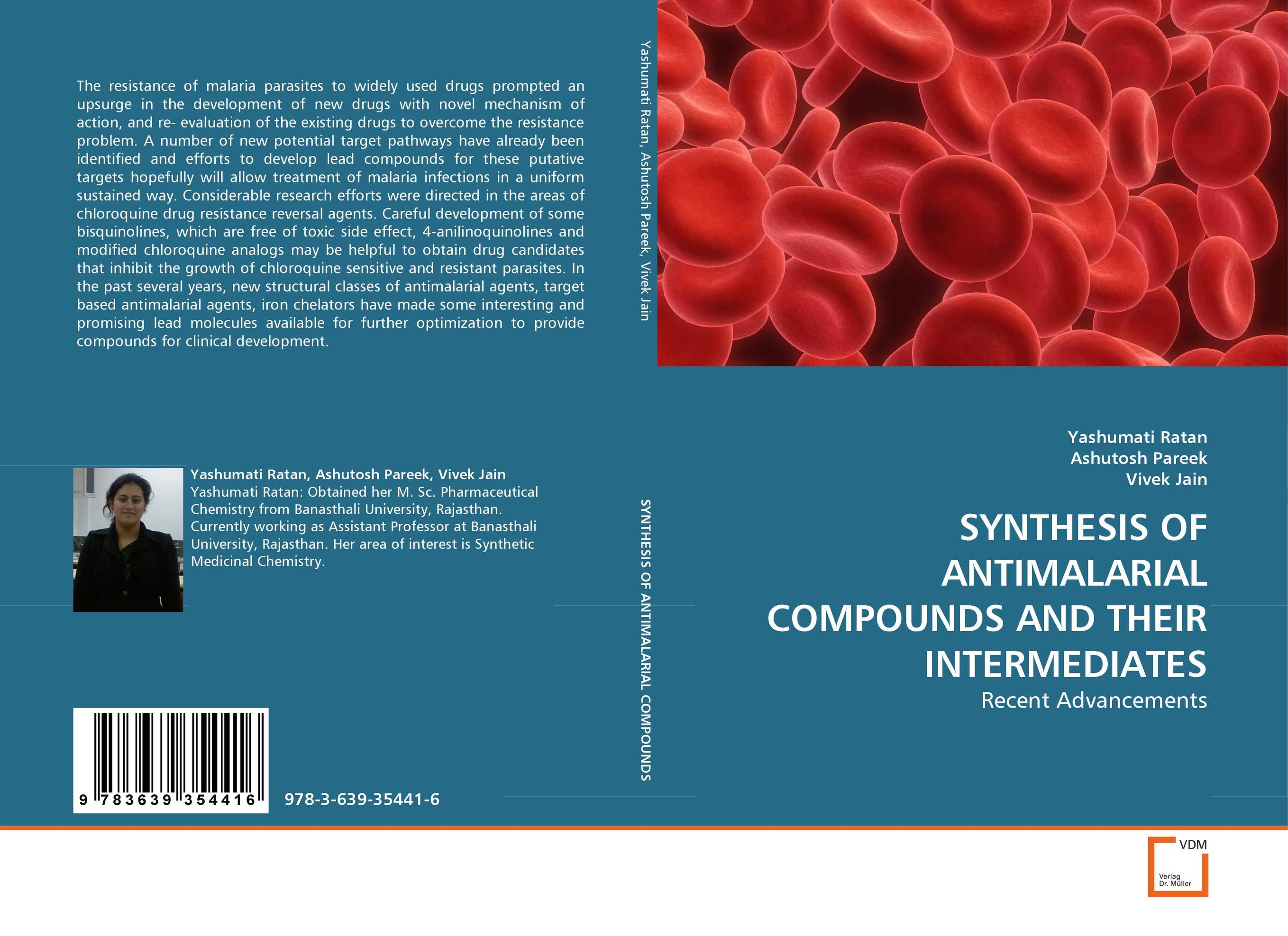 SYNTHESIS OF ANTIMALARIAL COMPOUNDS AND THEIR INTERMEDIATES revathi arun gupta and s g kaskhedikar synthesis evaluation and qsar study of antitubercular agents