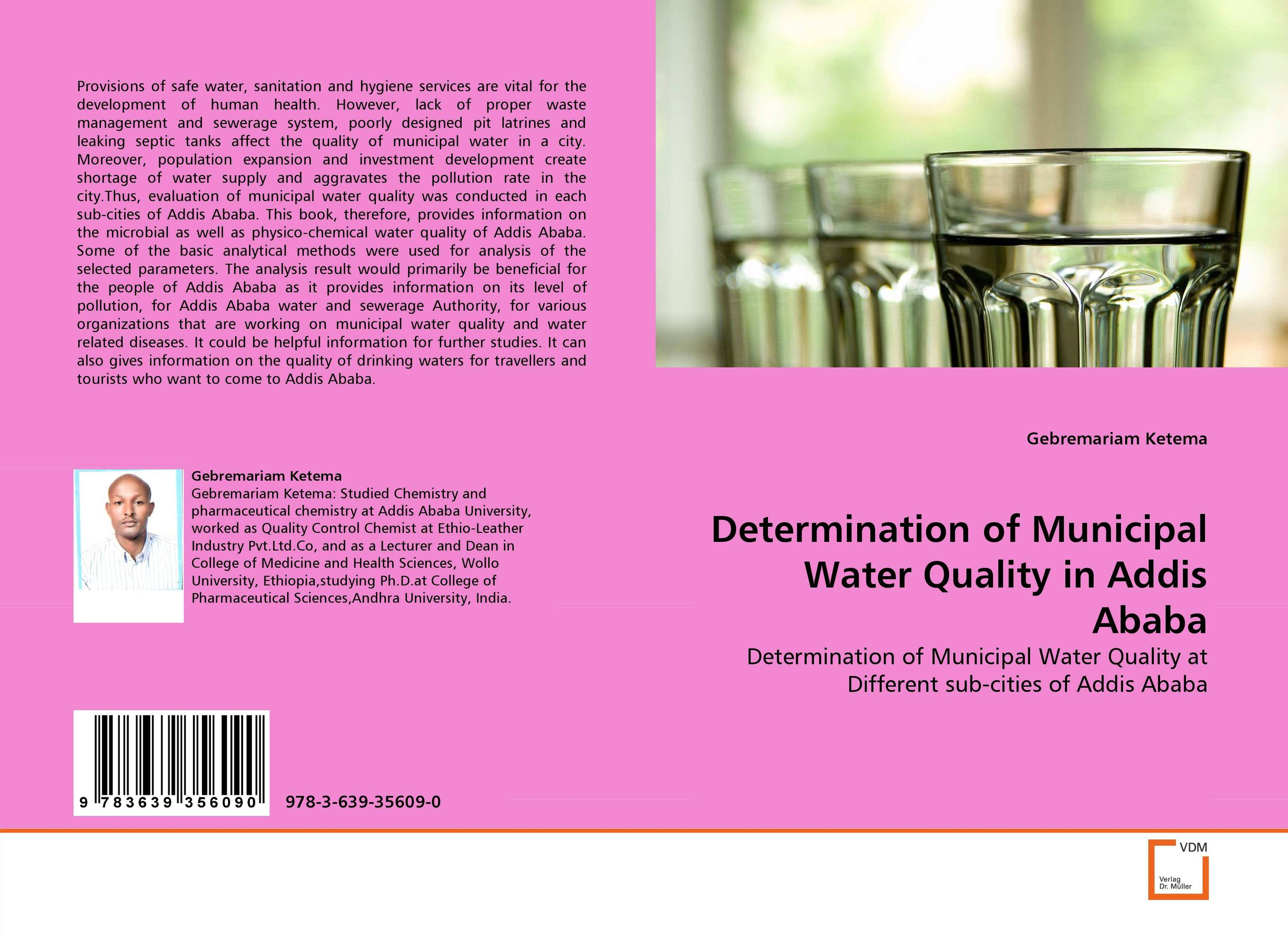 Determination of Municipal Water Quality in Addis Ababa thermo operated water valves can be used in food processing equipments biomass boilers and hydraulic systems