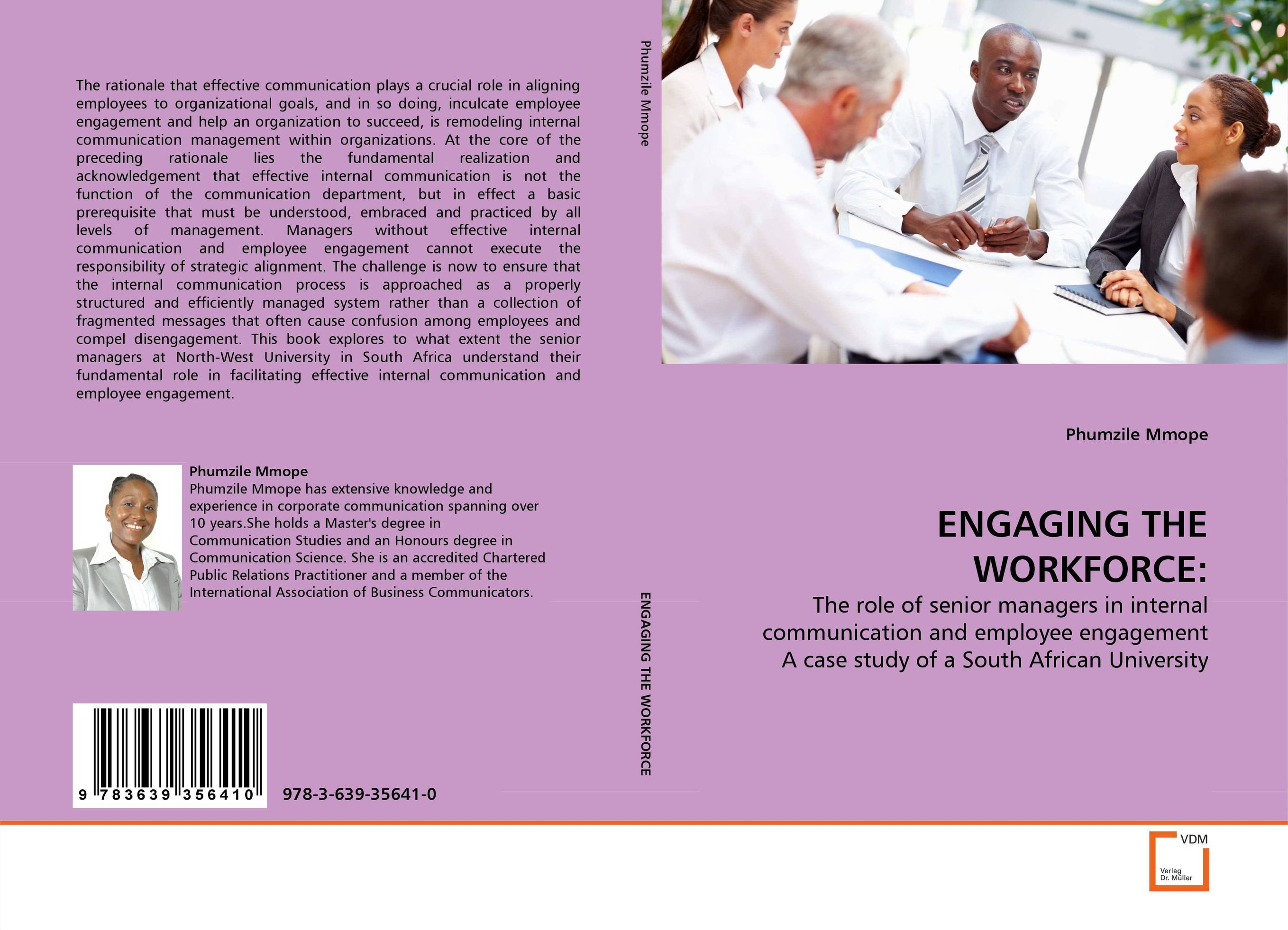 ENGAGING THE WORKFORCE: mohamad zakaria the role and function of effective communication