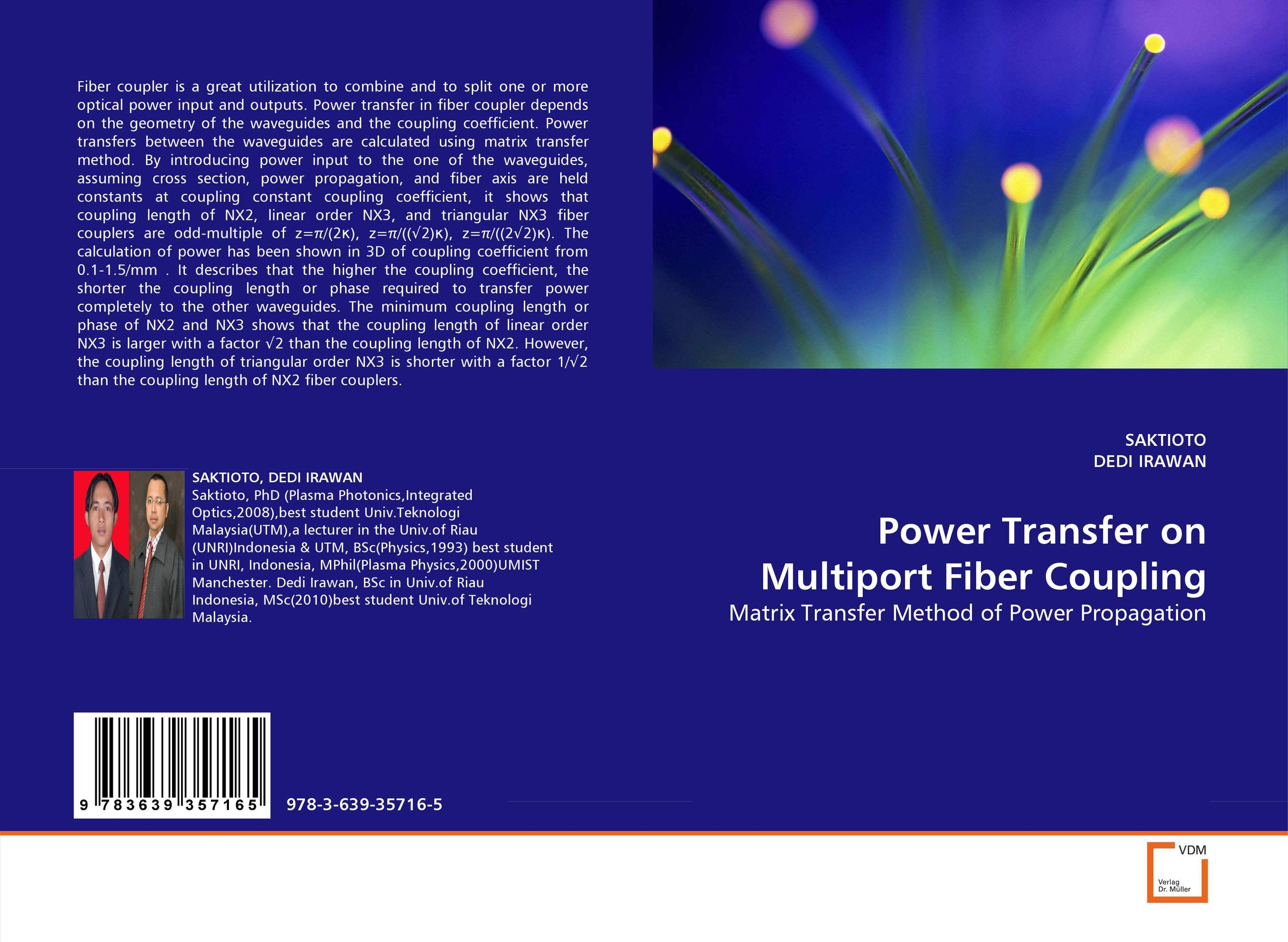 Power Transfer on Multiport Fiber Coupling original capacitive coupling capacitor of