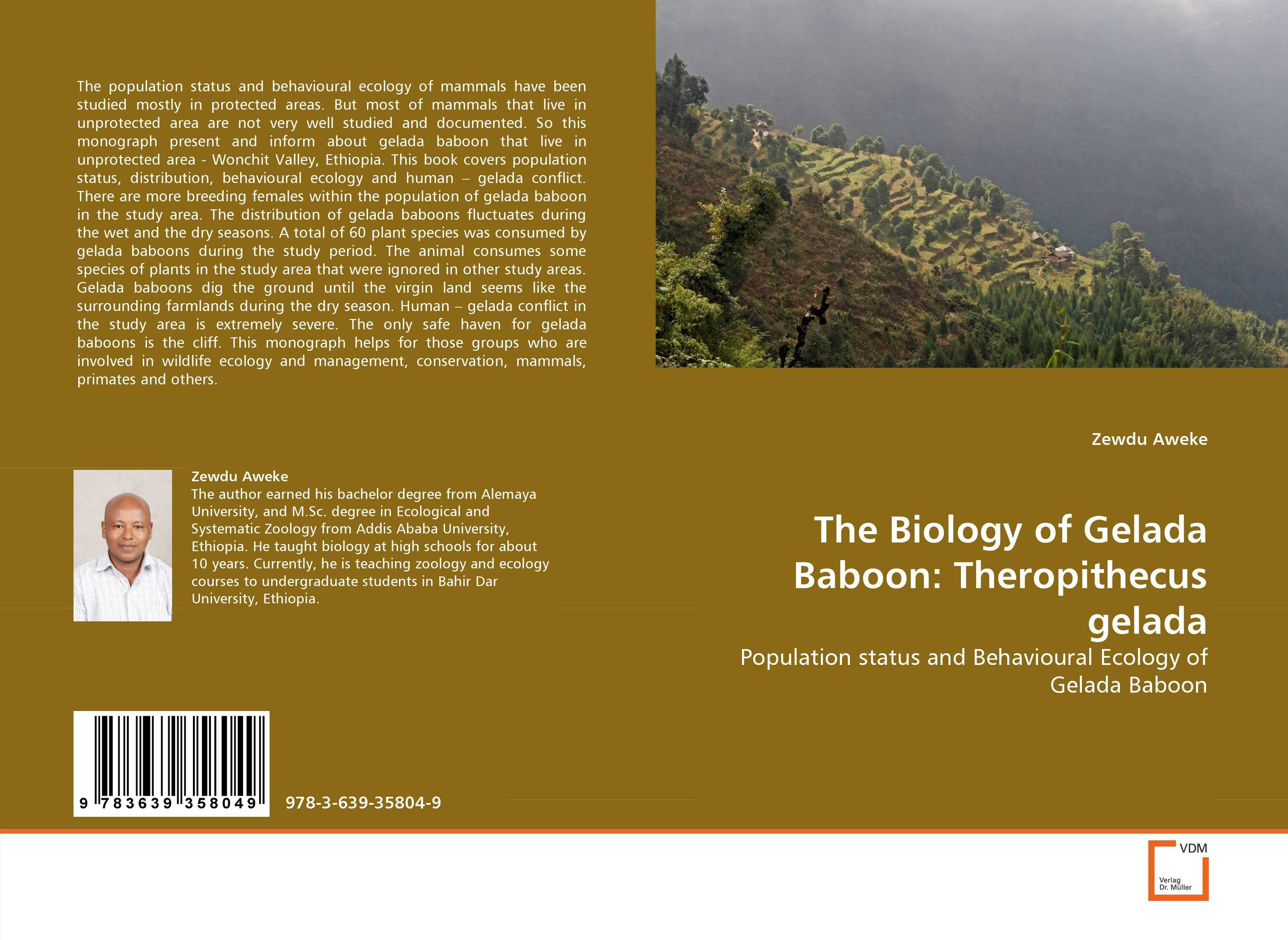 The Biology of Gelada Baboon: Theropithecus gelada the ecology and biology of nephrops norvegicus 64