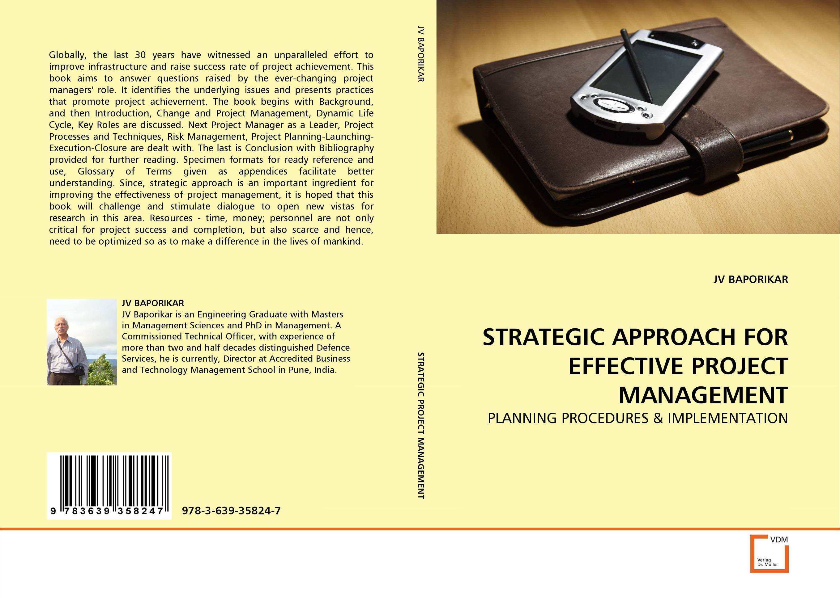 STRATEGIC APPROACH FOR EFFECTIVE PROJECT MANAGEMENT george eckes six sigma team dynamics the elusive key to project success