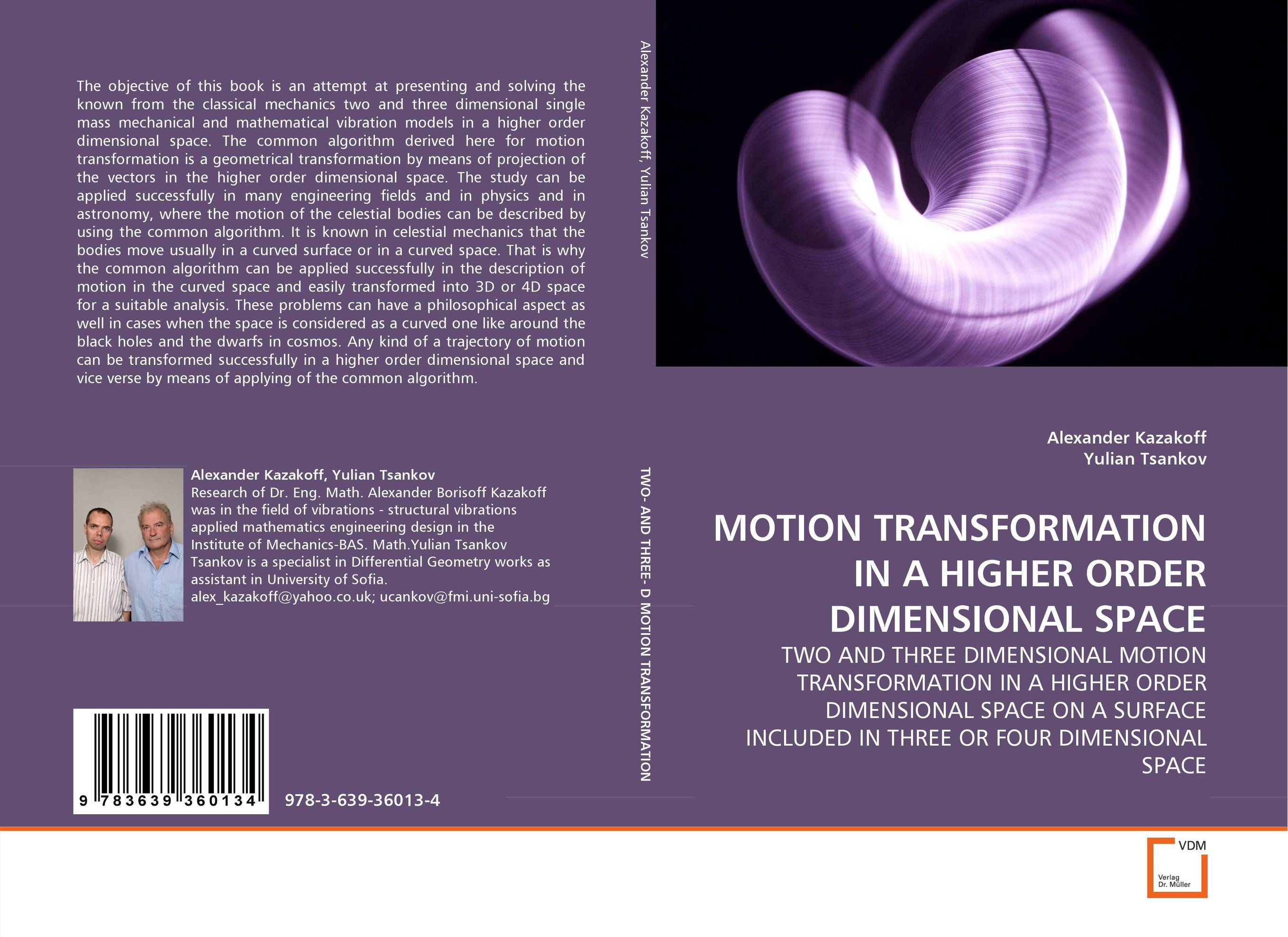 MOTION TRANSFORMATION IN A HIGHER ORDER DIMENSIONAL SPACE space and mobility in palestine