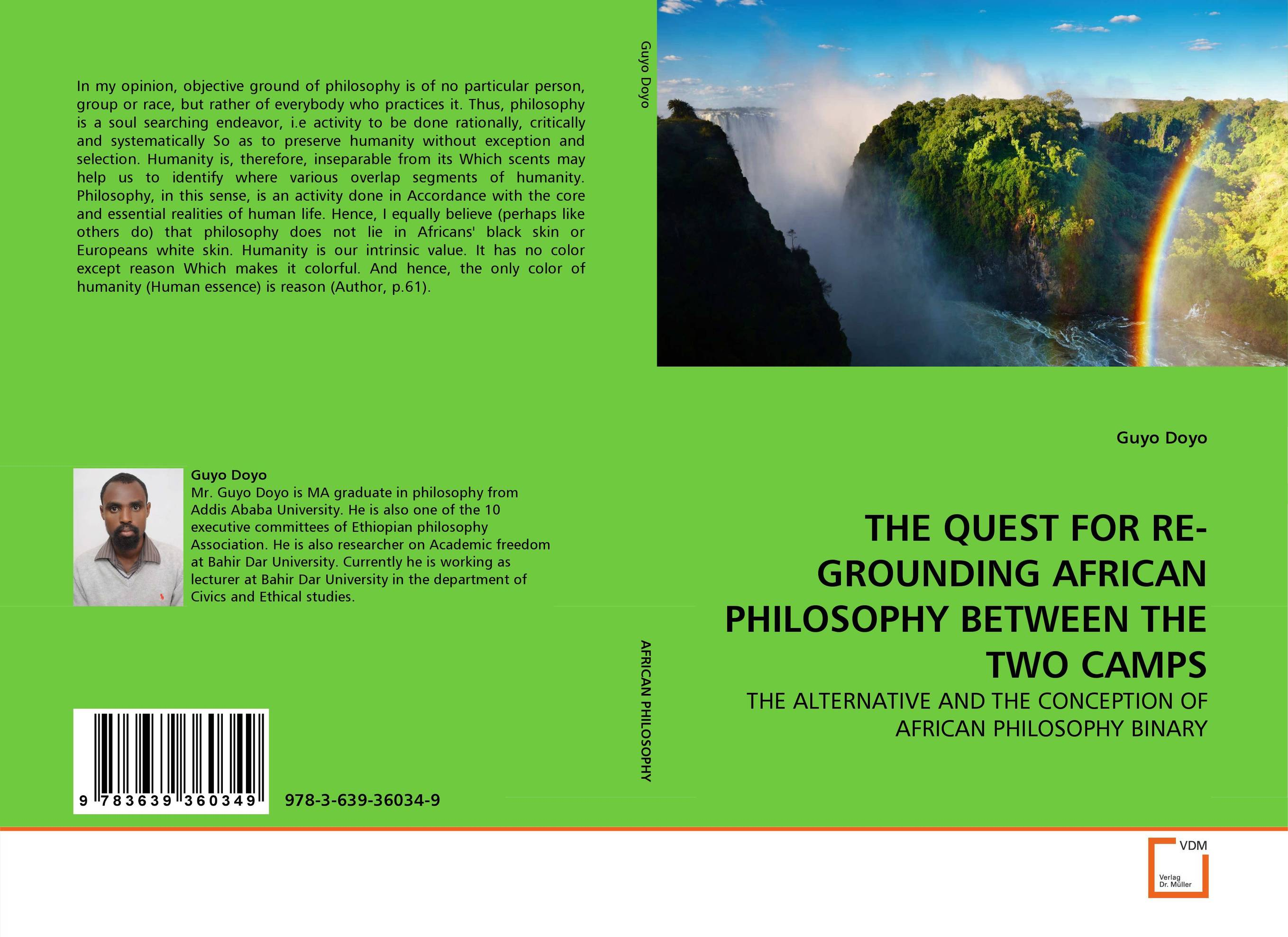 цены THE QUEST FOR RE-GROUNDING AFRICAN PHILOSOPHY BETWEEN THE TWO CAMPS
