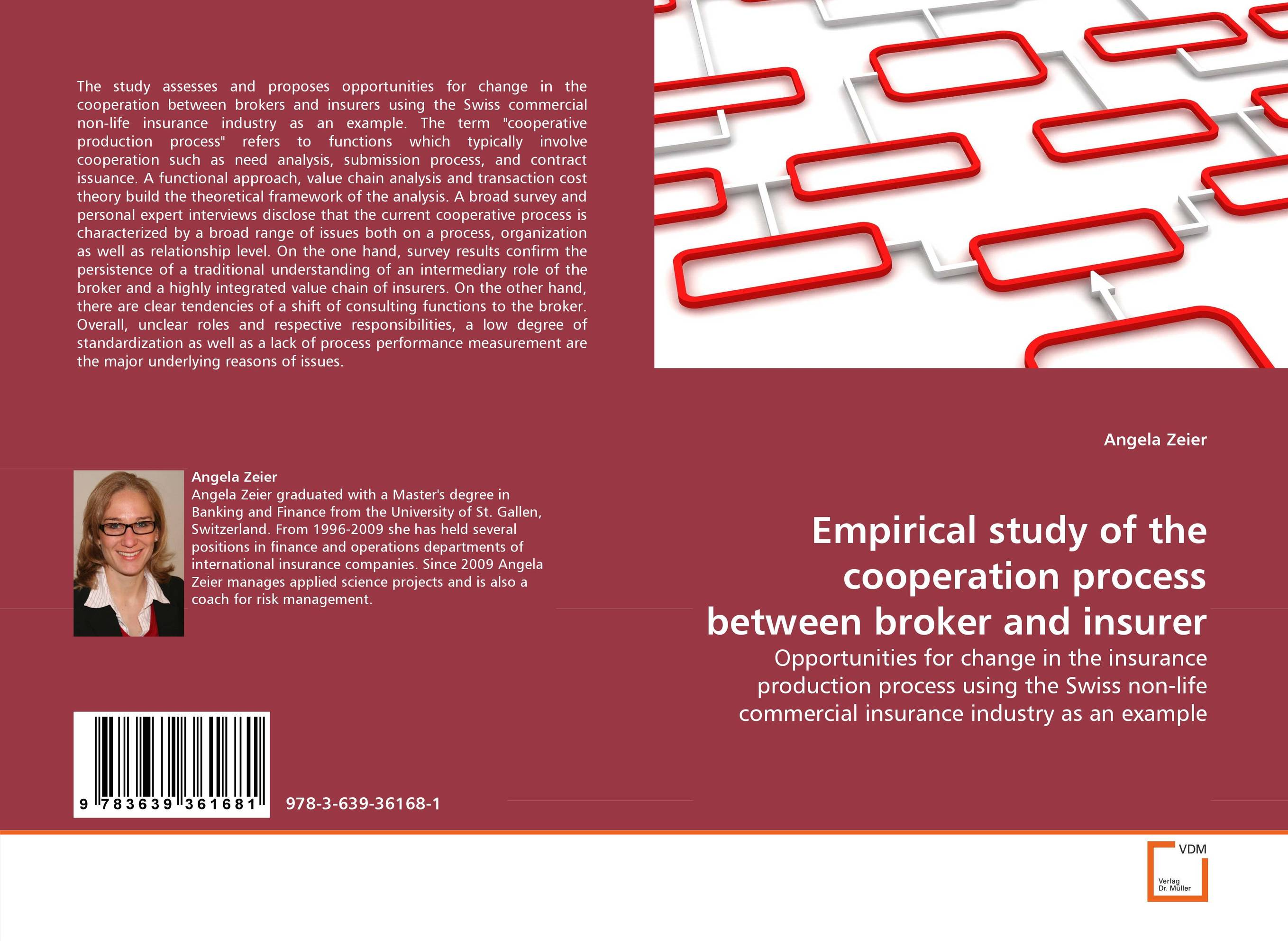 Empirical study of the cooperation process between broker and insurer the submission