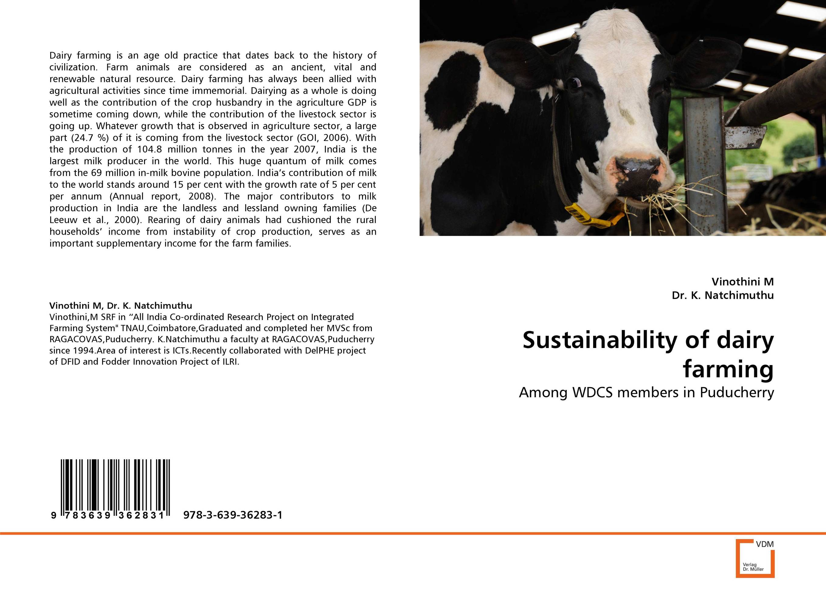 SUSTAINABILITY OF DAIRY FARMING adsorbent of mycotoxins as feed additives in farm animals