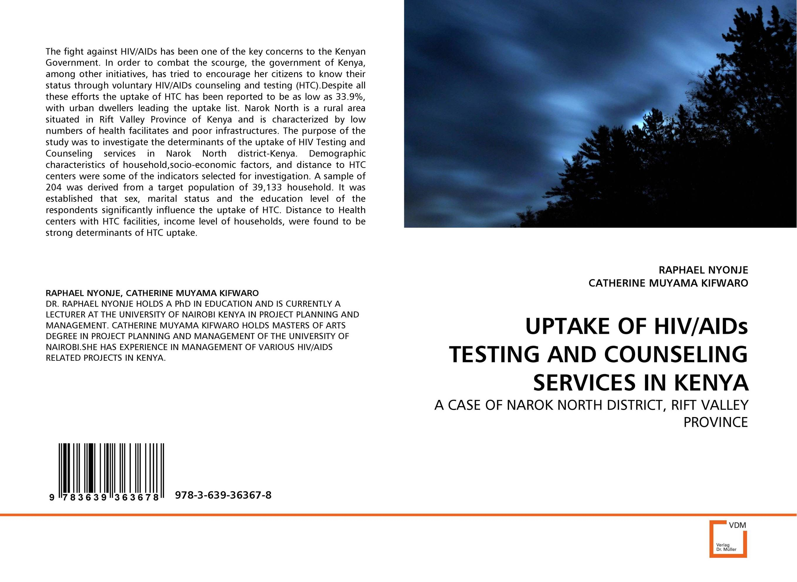 UPTAKE OF HIV/AIDs TESTING AND COUNSELING SERVICES IN KENYA assessment of hiv status disclosure among plwha in tano north district