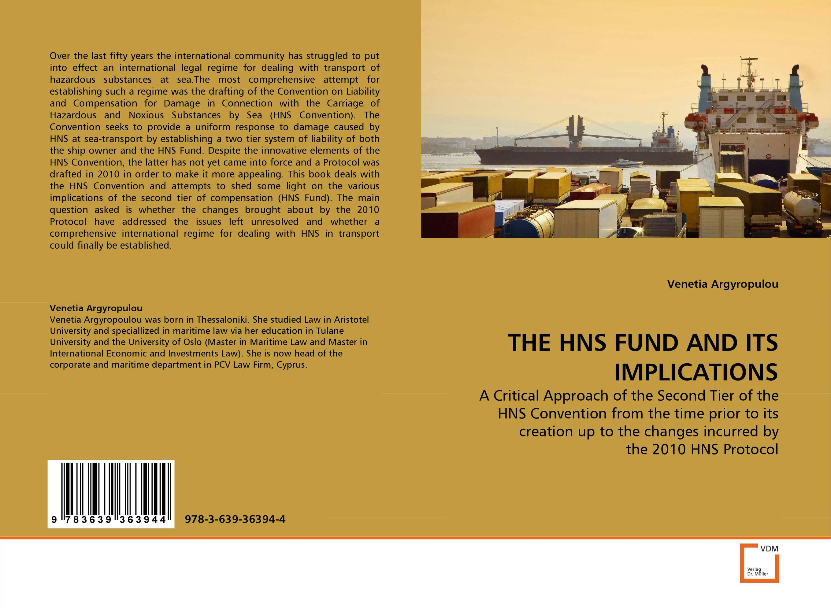 THE HNS FUND AND ITS IMPLICATIONS emerging challenges in the implementation of the oprc hns protocol