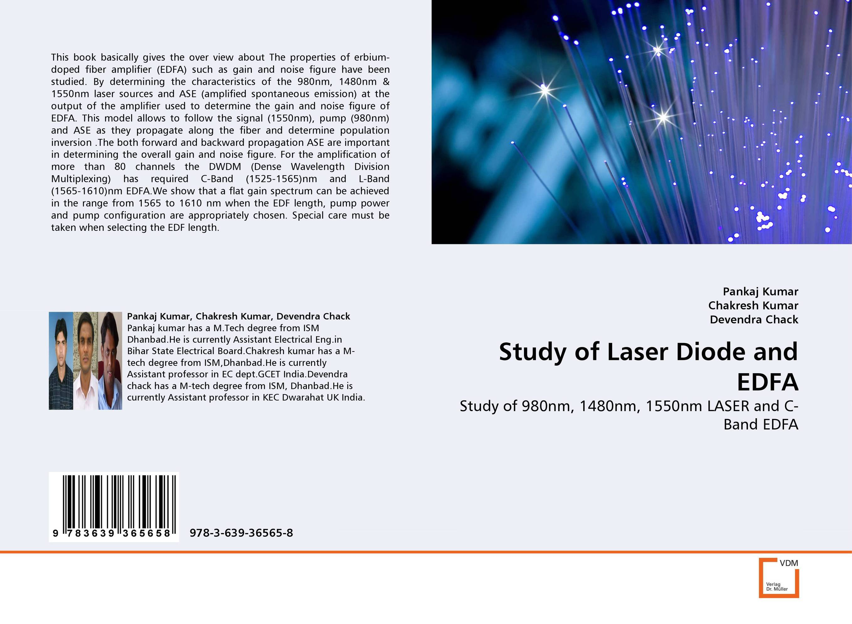 Study of Laser Diode and EDFA