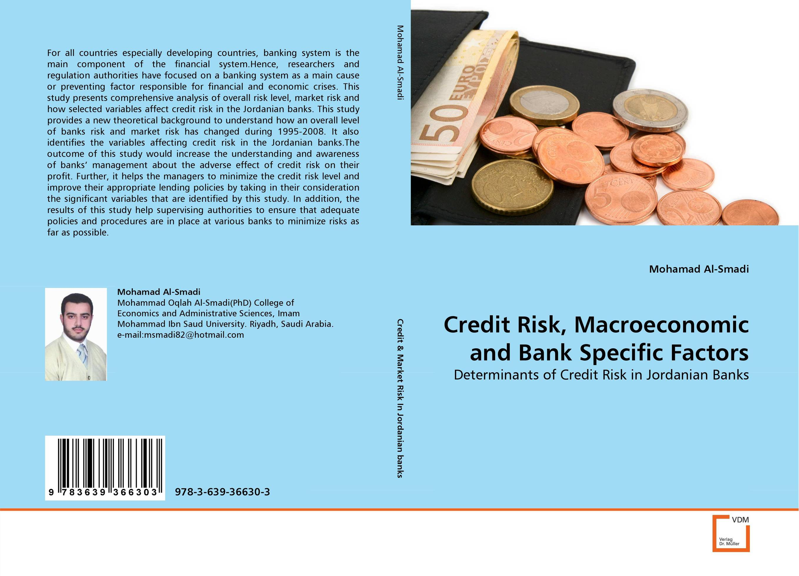 Credit Risk, Macroeconomic and Bank Specific Factors christian szylar handbook of market risk