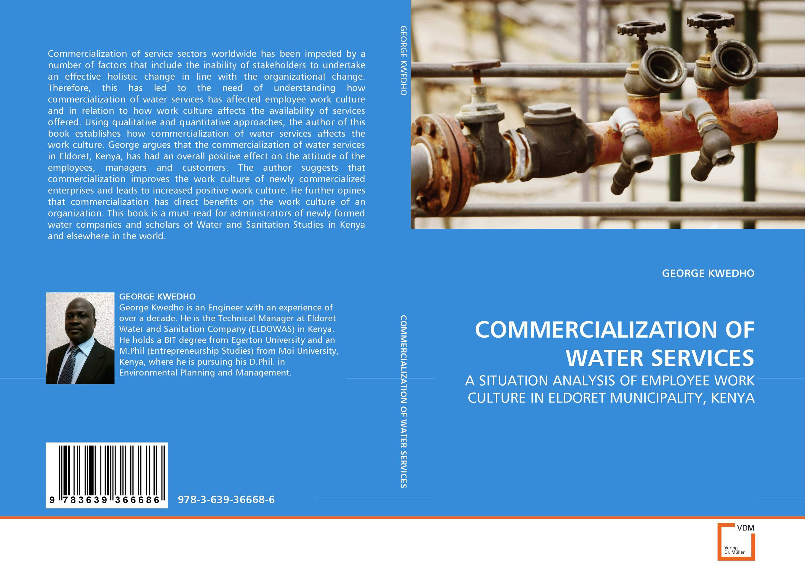 COMMERCIALIZATION OF WATER SERVICES bride of the water god v 3